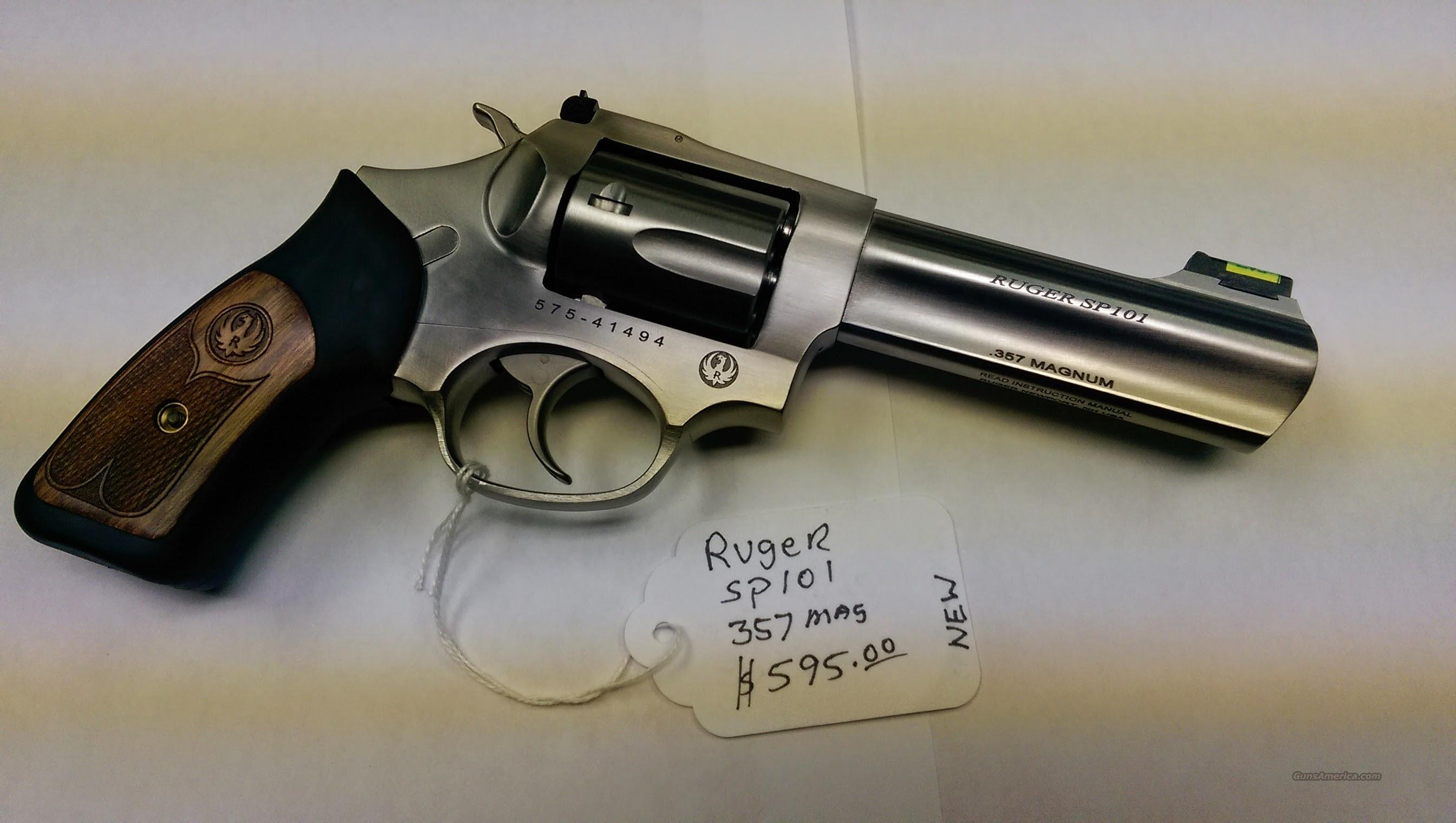 Ruger SP101 .357 Mag  Guns > Pistols > Ruger Double Action Revolver > SP101 Type