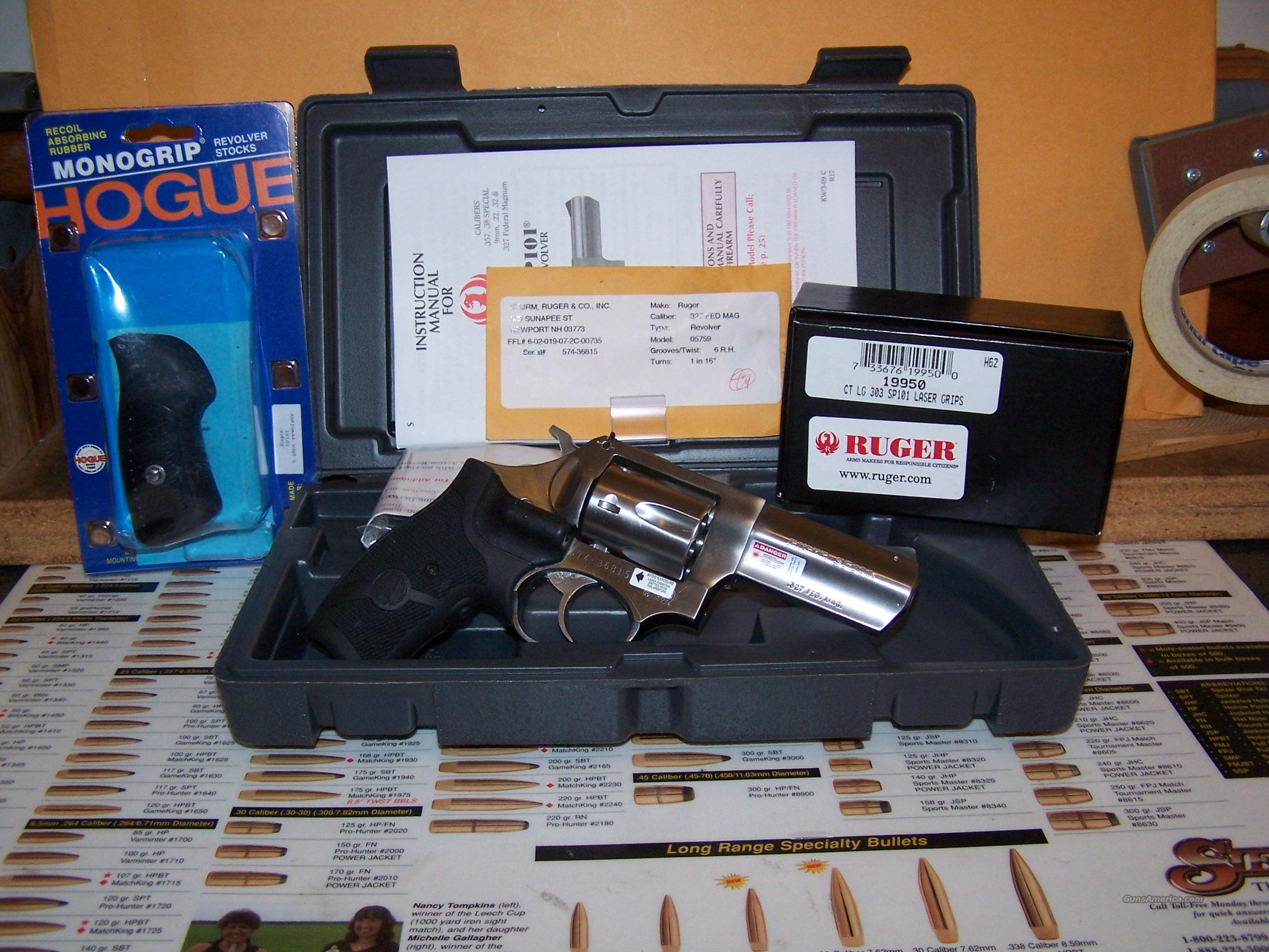 Ruger SP 101  Guns > Pistols > Ruger Double Action Revolver > SP101 Type