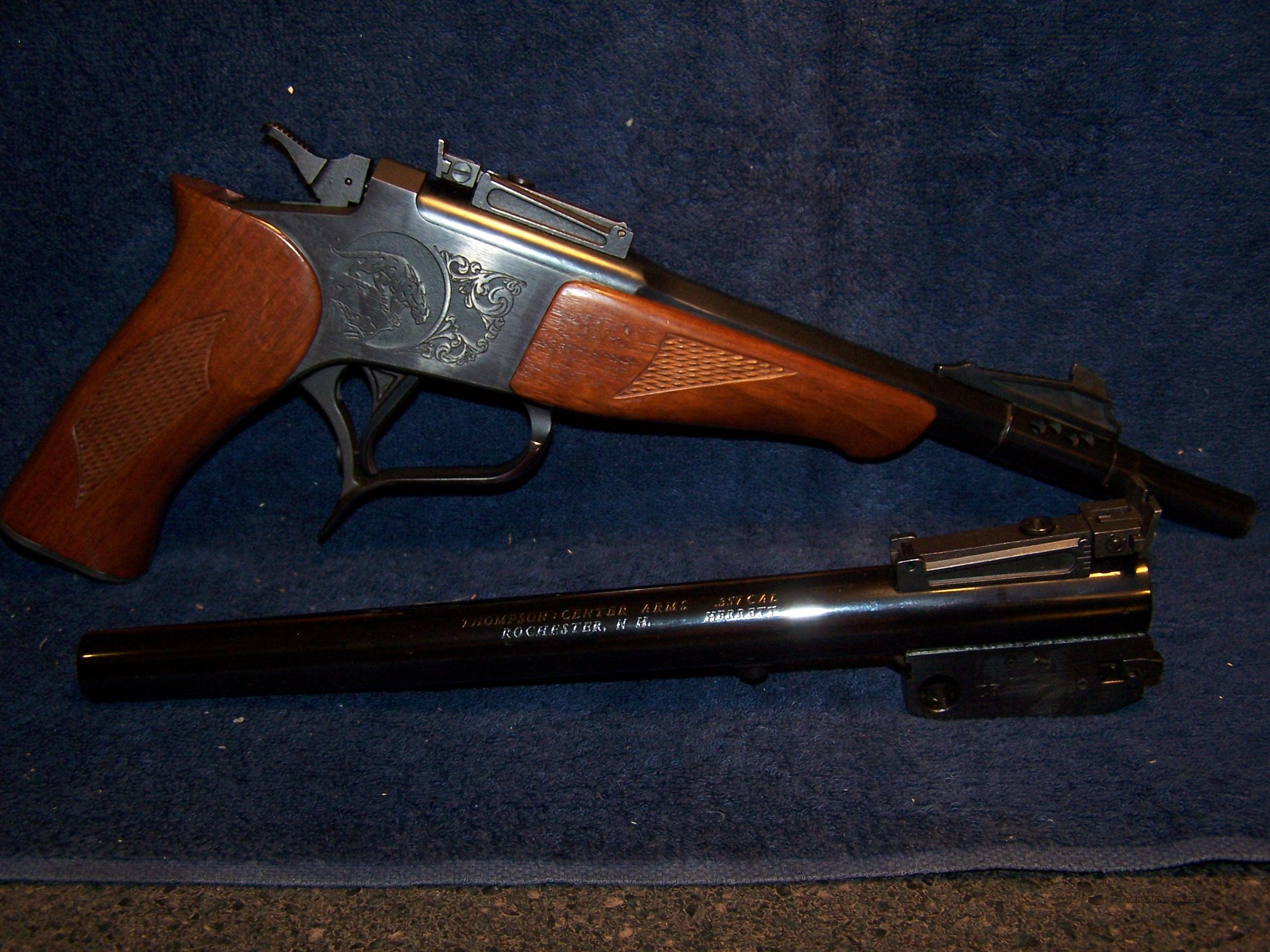 Thompson Contender 44 Mag/ 357 Herrett  Guns > Pistols > Thompson Center Pistols > Contender