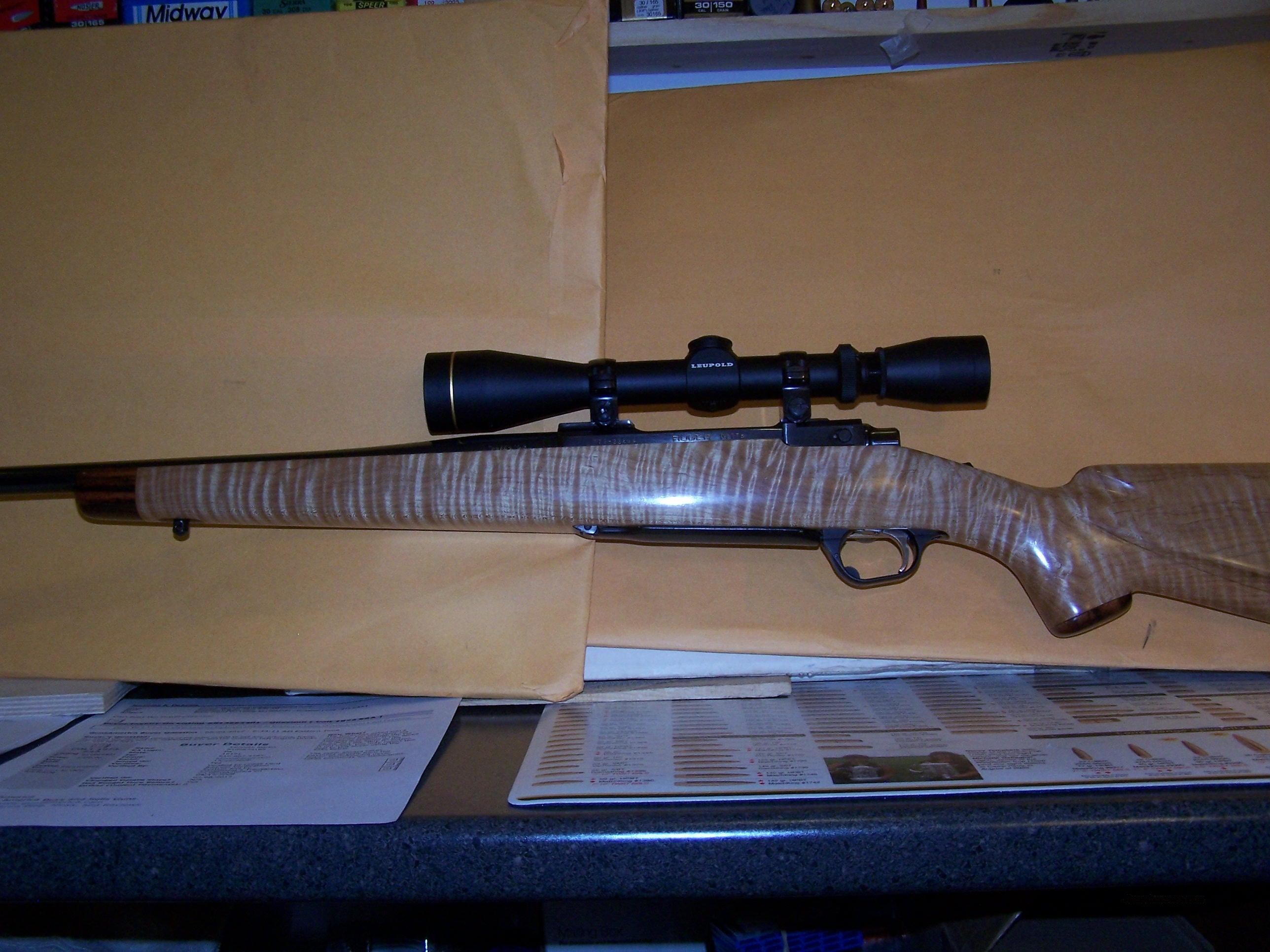 RUGER M-77  CUSTOM  Guns > Rifles > Ruger Rifles > Model 77