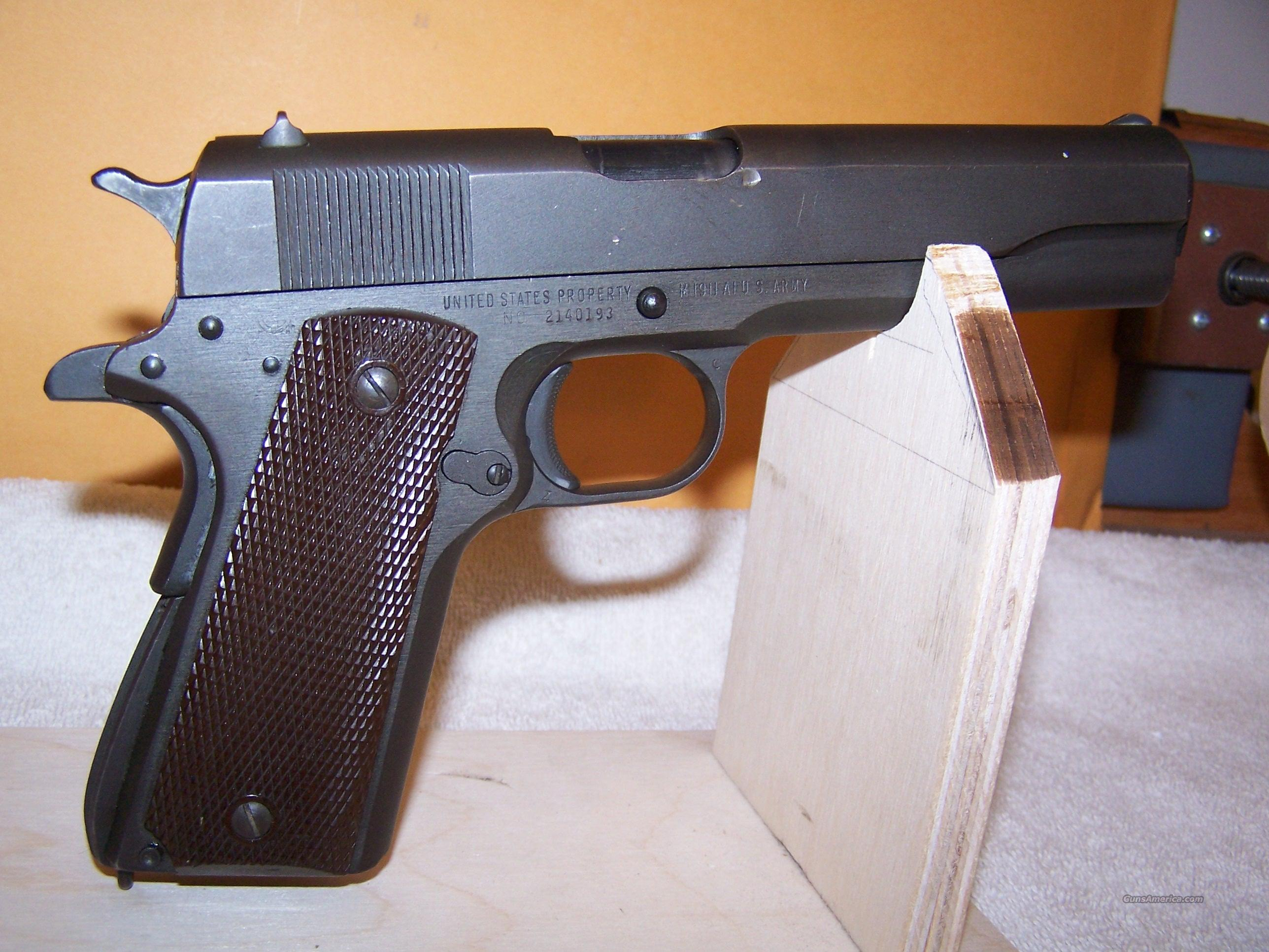 1911- Remington Rand  Guns > Pistols > Colt Automatic Pistols (1911 & Var)