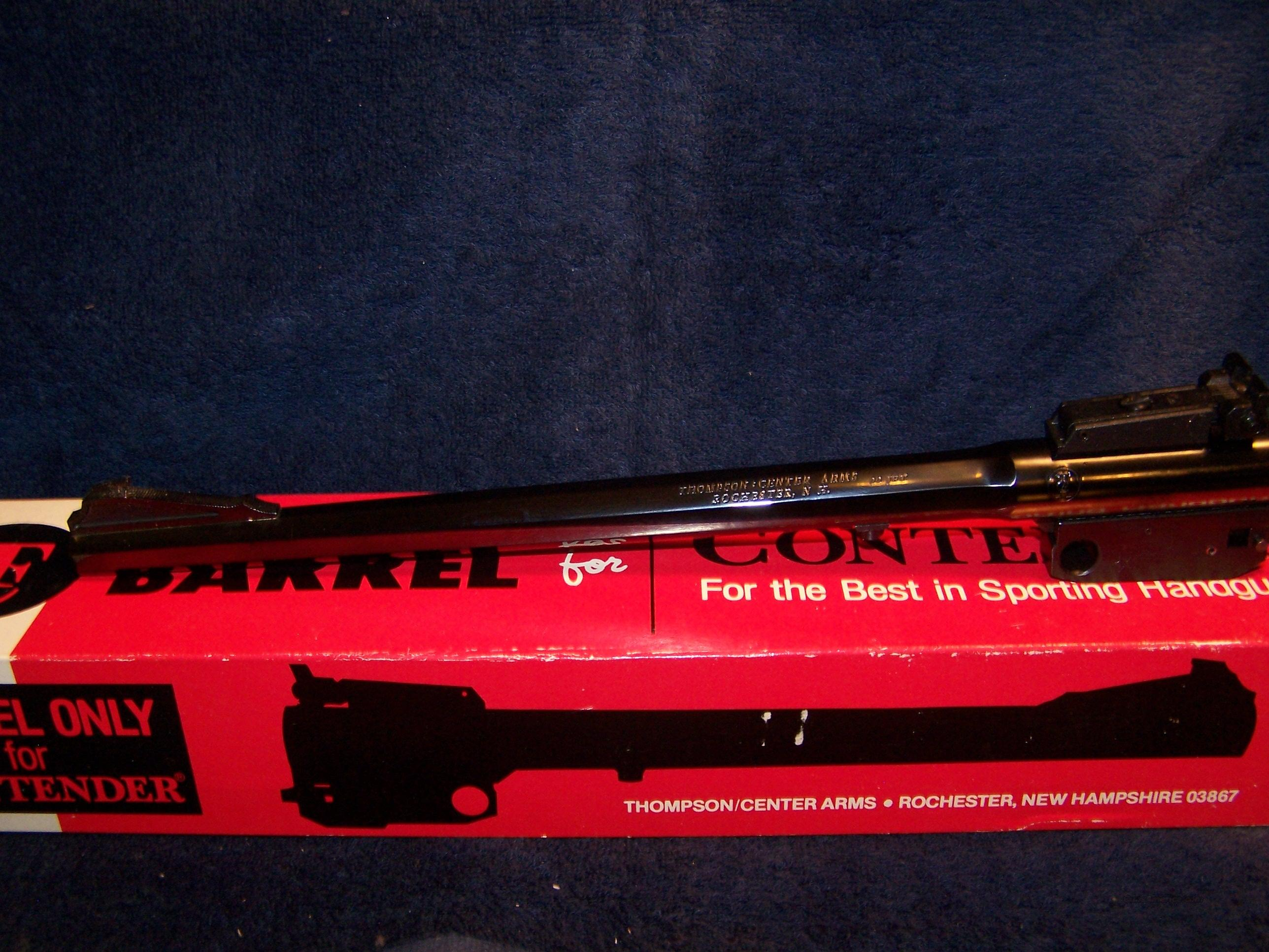 Contender Barrel 22 Jet.  Guns > Pistols > Thompson Center Pistols > Contender