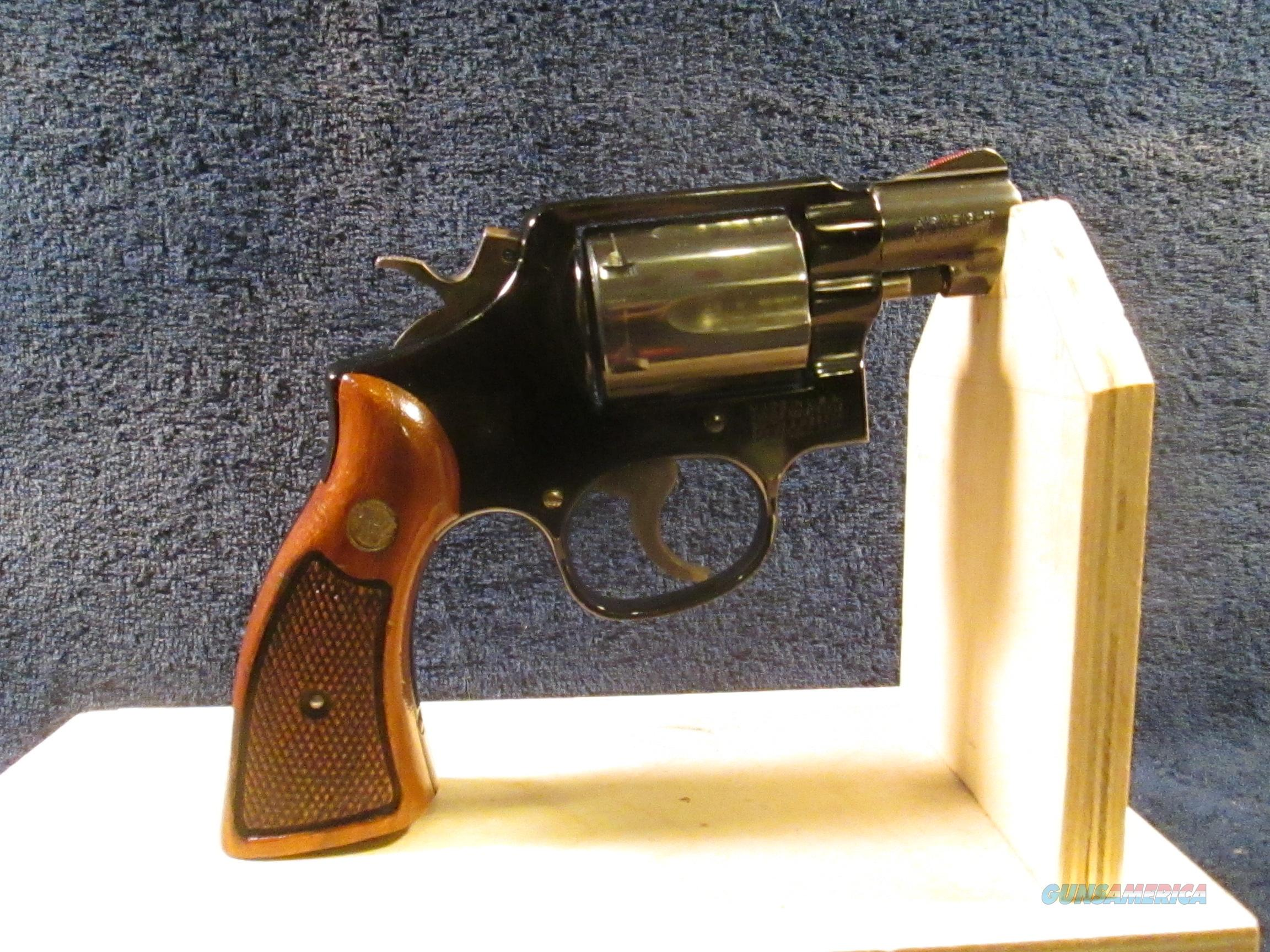 Smith & Wesson Mod.12-3 Thin Frame.  Guns > Pistols > Smith & Wesson Revolvers > Full Frame Revolver
