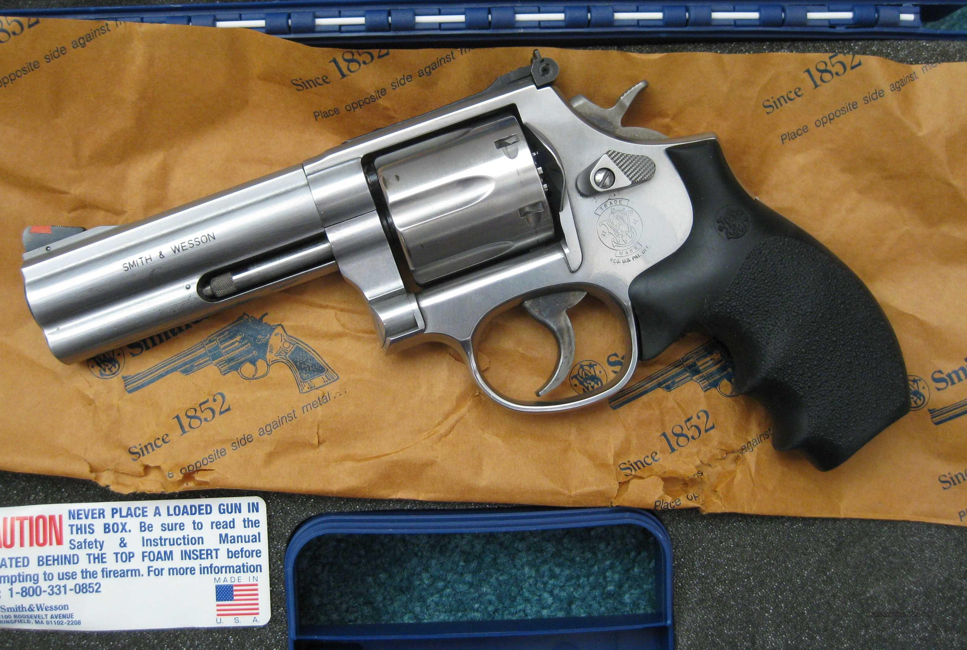 S&W 686-5 4inch Stainless .357 Mag  Guns > Pistols > Smith & Wesson Revolvers > Full Frame Revolver