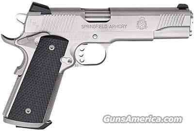 Springfield TRP Service Stainless PC9107LP New  Guns > Pistols > Springfield Armory Pistols > 1911 Type