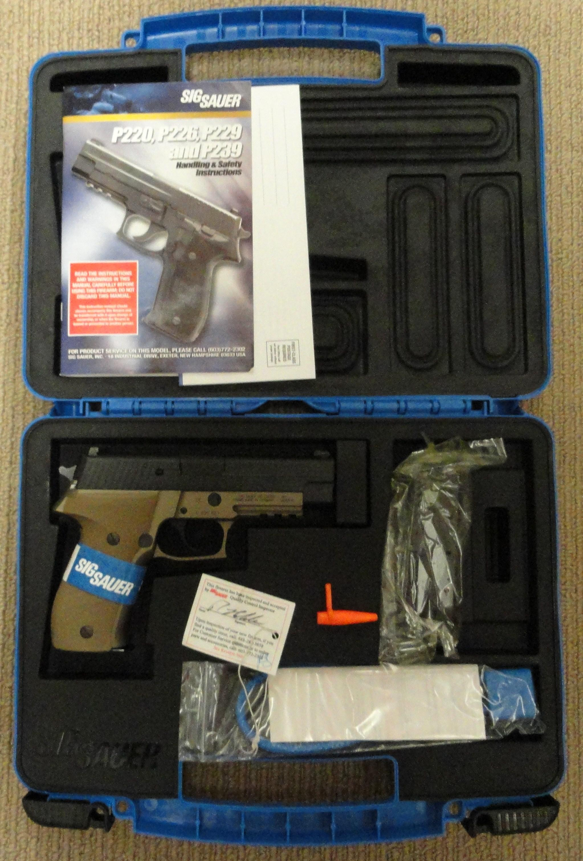 Sig P226 Combat 9mm E26R-9-CBT Earth New in box  Guns > Pistols > Sig - Sauer/Sigarms Pistols > P226