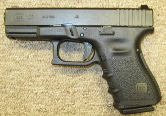 Glock 23 Night Sights 40 Cal NIB PN2350701  Guns > Pistols > Glock Pistols > 23