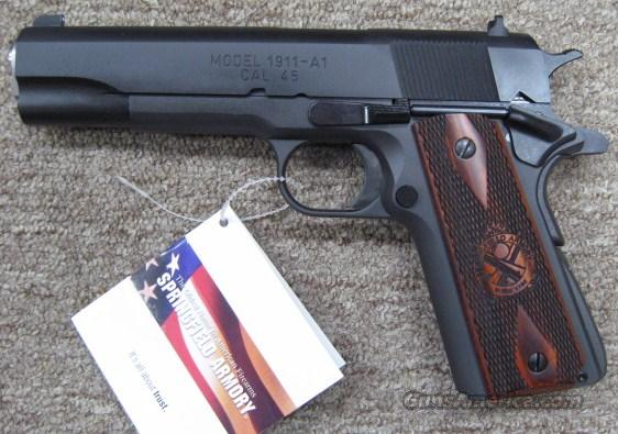 "Springfield 1911-A1 45ACP PB9108LP 5"" Mil-Spec  New in the box  Guns > Pistols > Springfield Armory Pistols > 1911 Type"