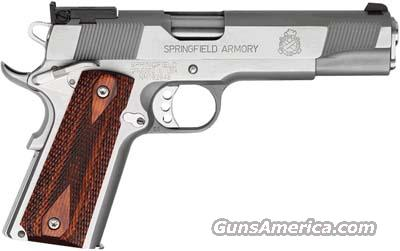 Springfield 1911-A1 45ACP Target Stainless PI9132LP New Made in USA  Guns > Pistols > Springfield Armory Pistols > 1911 Type