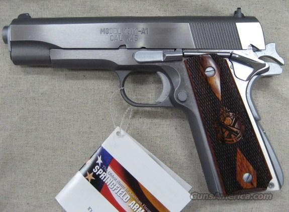 PB9151LP Springfield 1911-A1 45ACP Stainless Mil-Spec New in Box   Guns > Pistols > Springfield Armory Pistols > 1911 Type