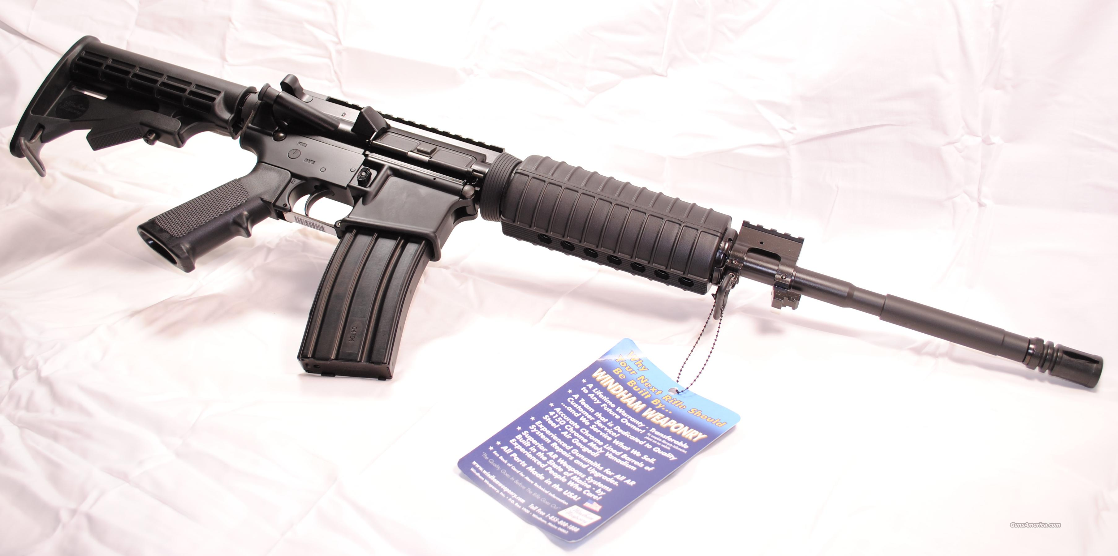 WINDHAM WEAPONRY AR-15 M4 Flat top  Guns > Rifles > Windham Weaponry Rifles