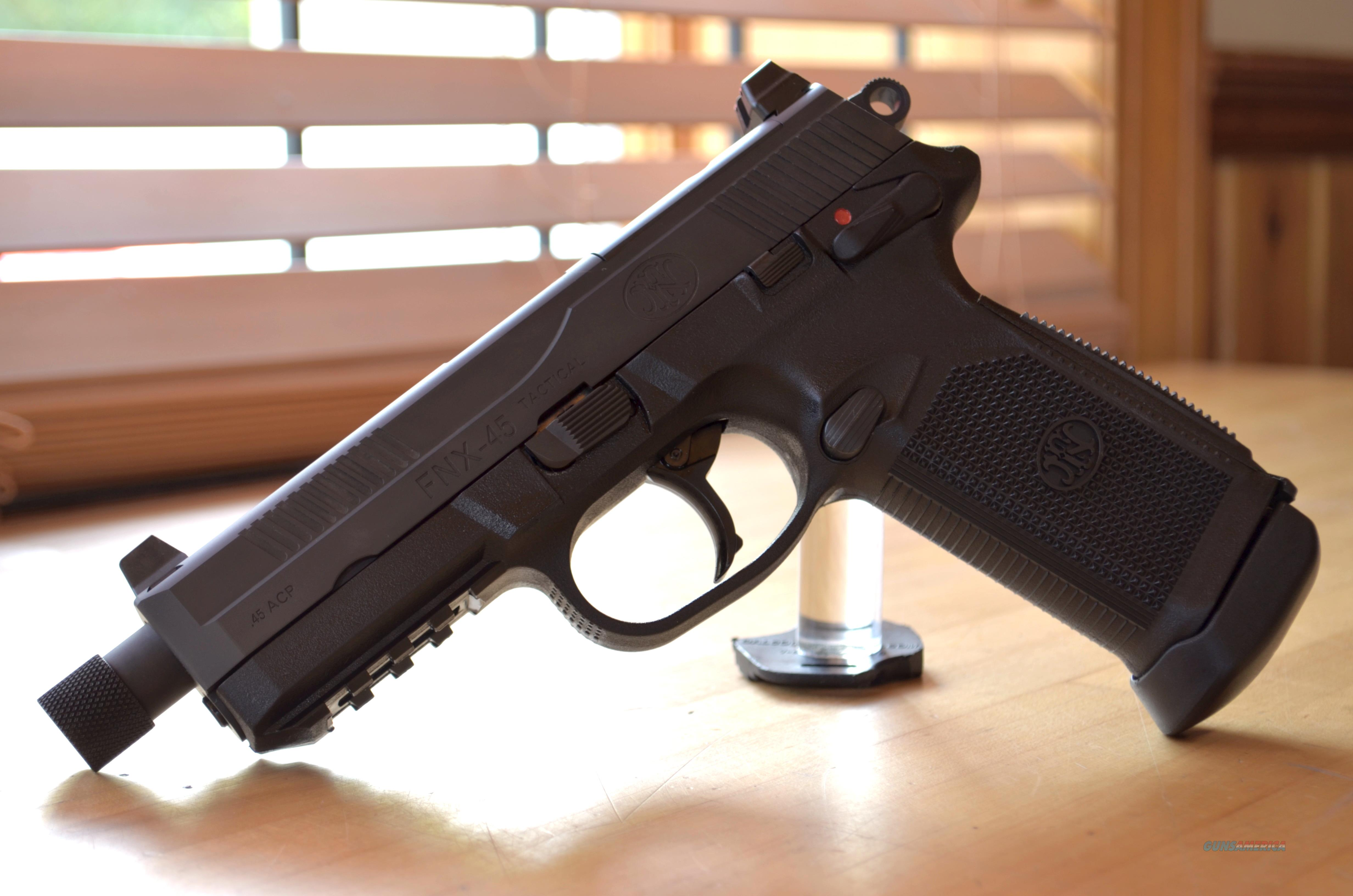 USED FN FNX-45 Tactical .45ACP  Guns > Pistols > FNH - Fabrique Nationale (FN) Pistols > FNX