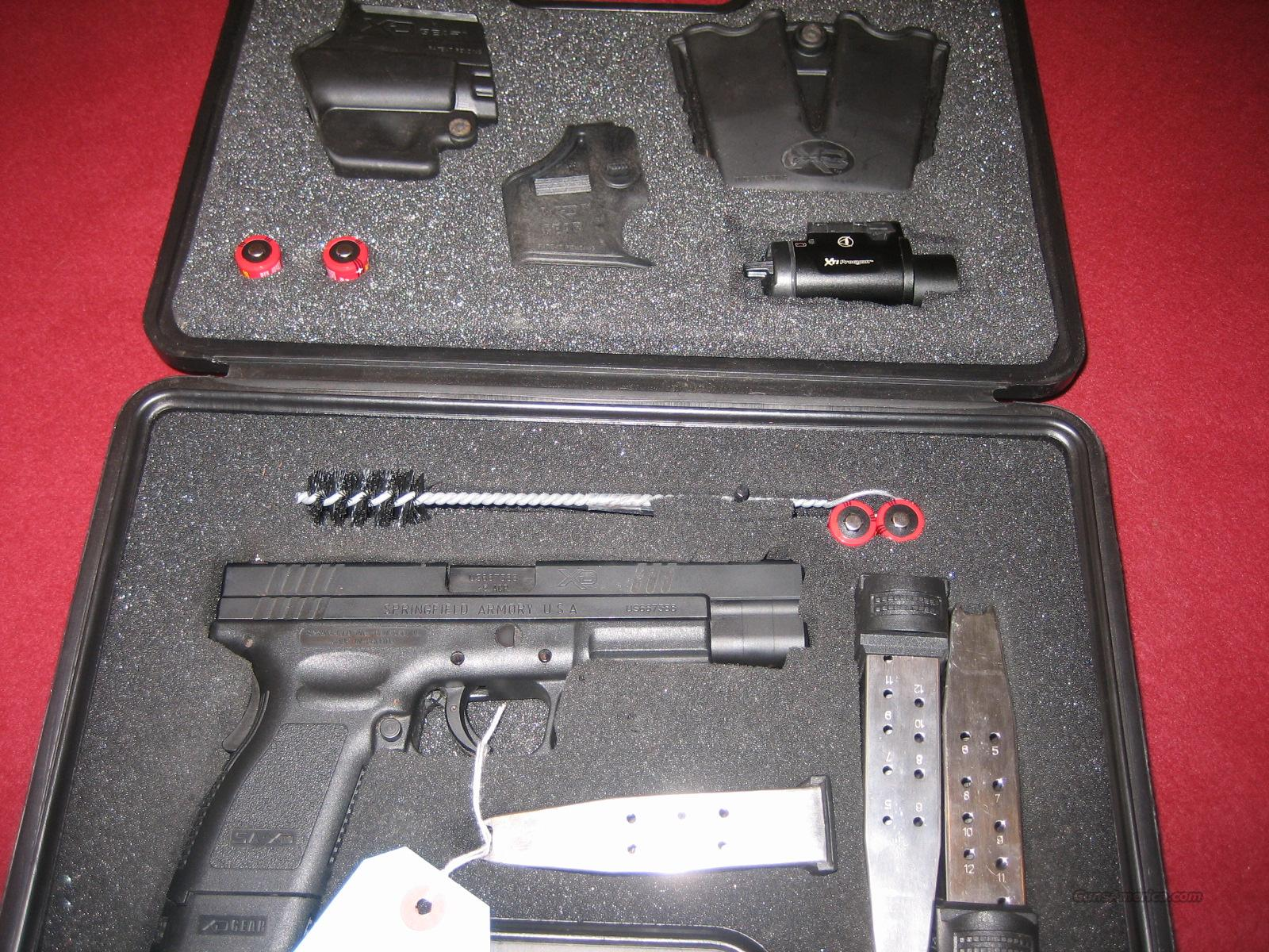 SPRINGFIELD XD-45 TACTICAL  Guns > Pistols > Springfield Armory Pistols > XD (eXtreme Duty)