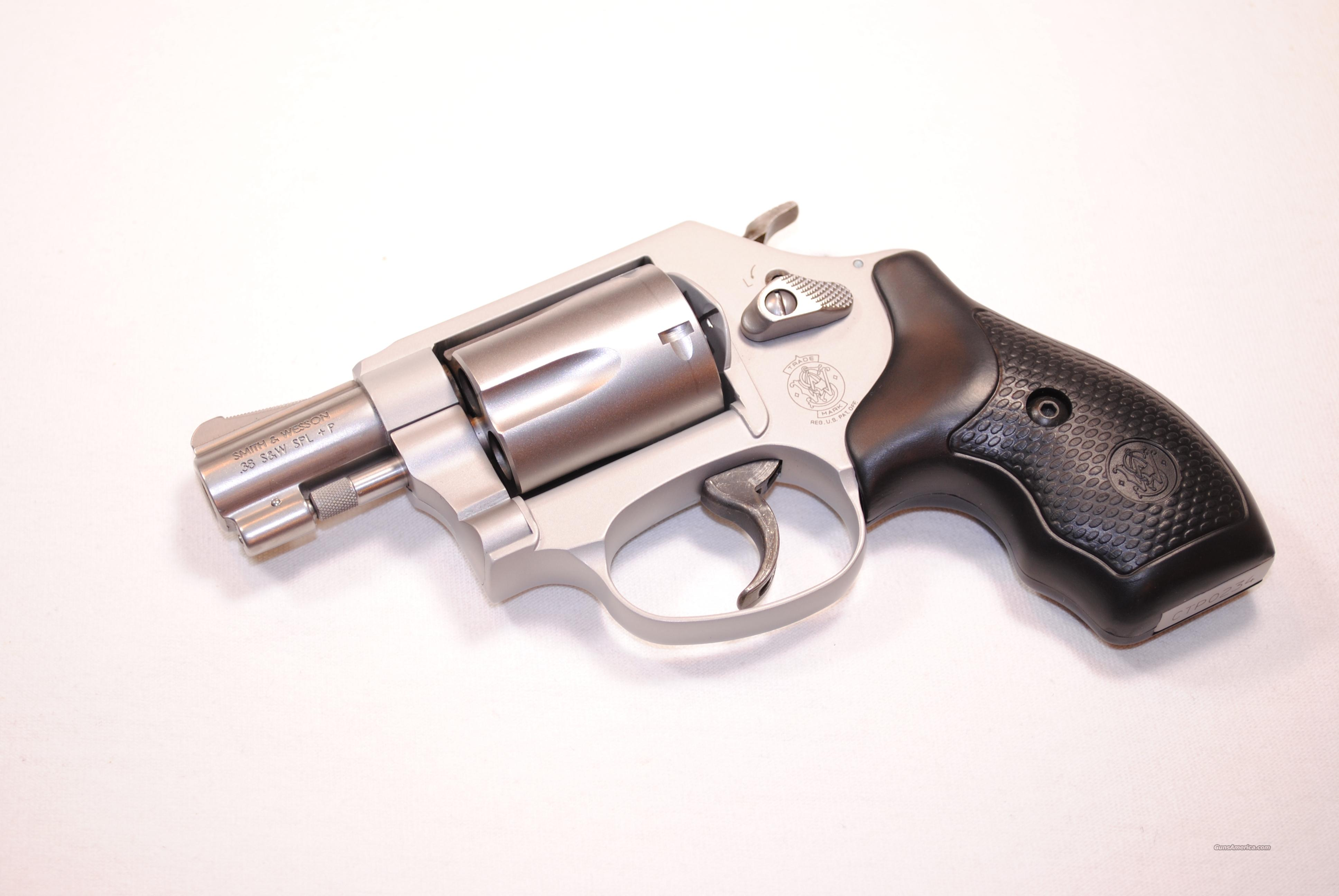 SMITH & WESSON 637 AIRWEIGHT exposed hammer  Guns > Pistols > Smith & Wesson Revolvers > Pocket Pistols