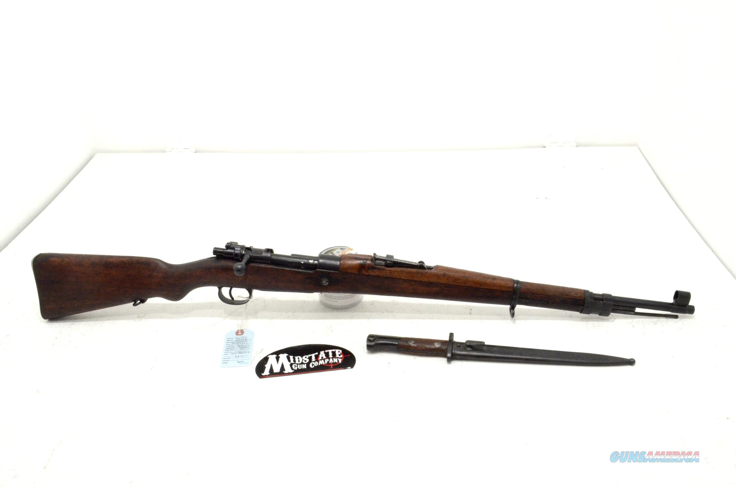 Mauser M24/47 8mm Russian w/ bayonet  Guns > Rifles > Mauser Rifles > German