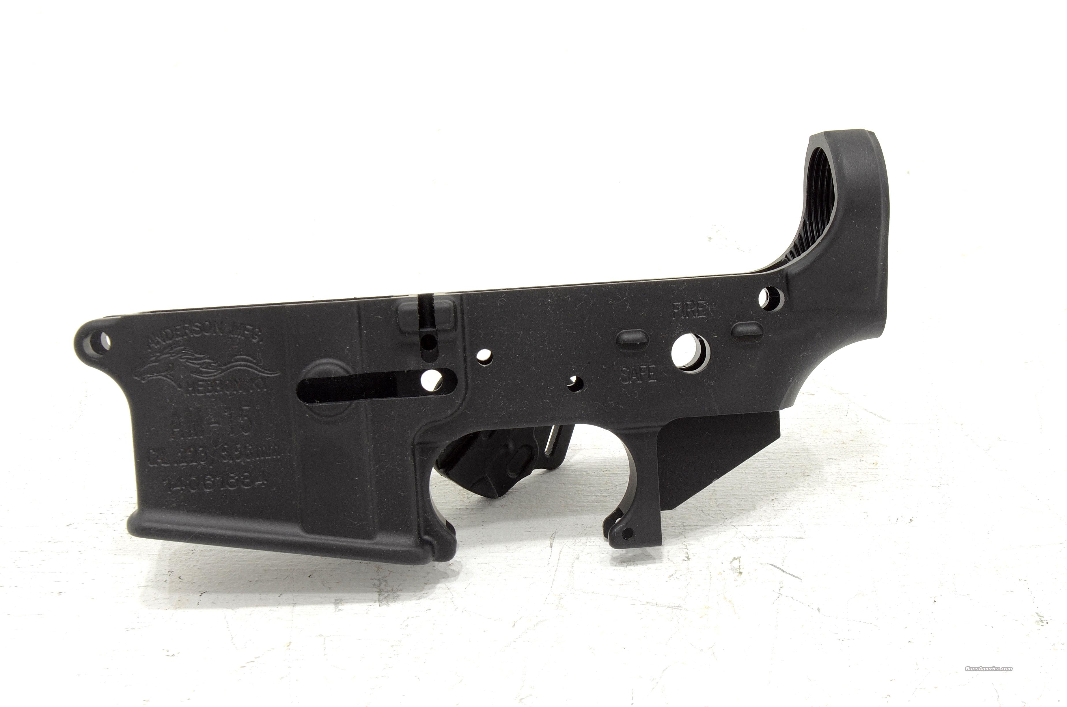 ANDERSON MANUFACTURING AR15 A3 STRIPPED LOWER  Guns > Rifles > AR-15 Rifles - Small Manufacturers > Lower Only
