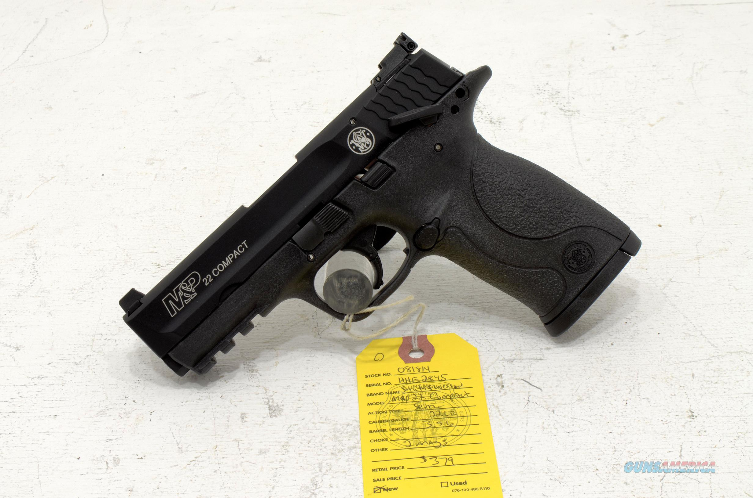 NEW SMITH & WESSON M&P22 Compact .22lr  Guns > Pistols > Smith & Wesson Pistols - Autos > .22 Autos