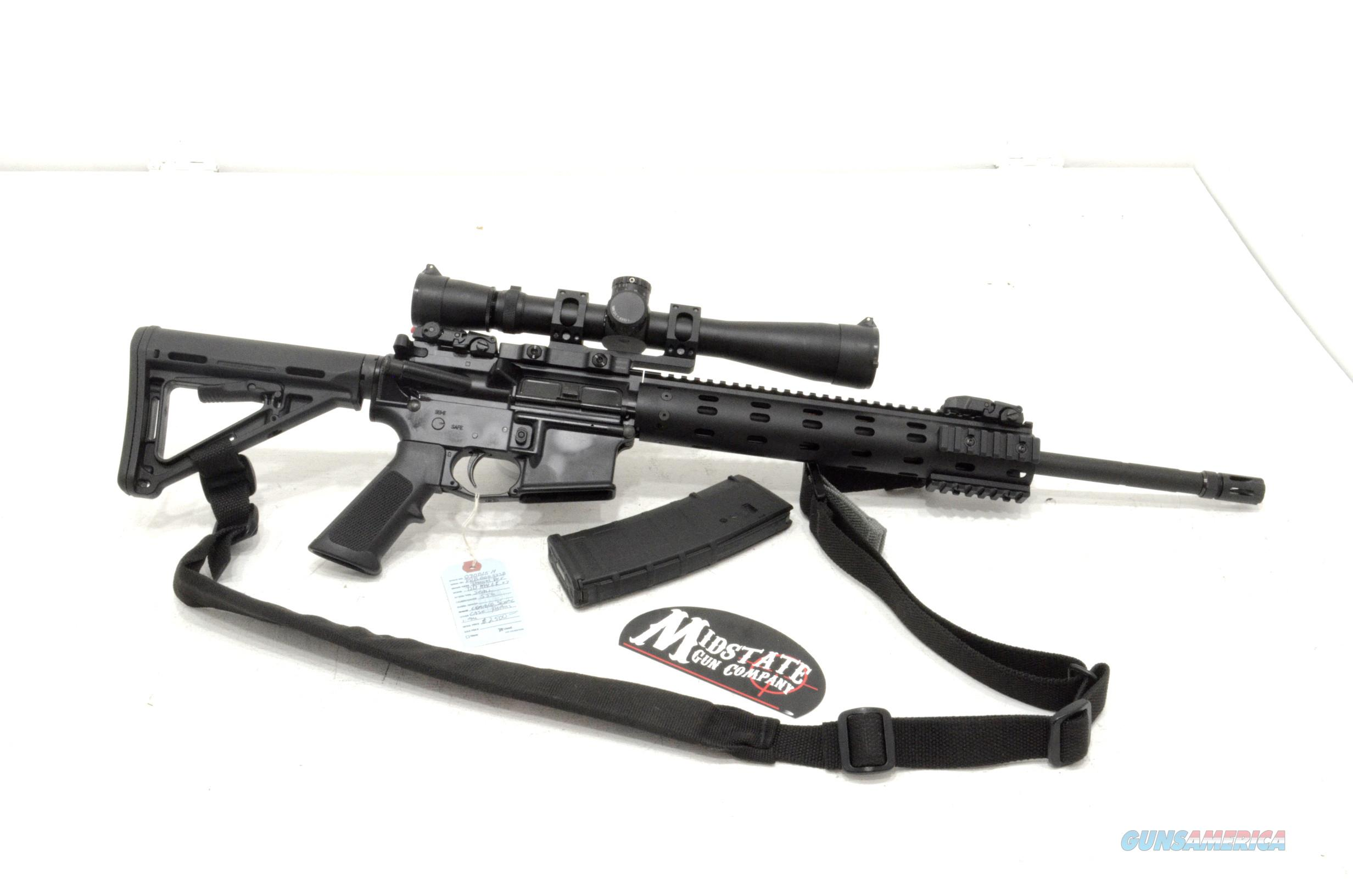 "Daniel Defense DDM4LE 5.56 20"" barrel w/ Leupold MK4 scope  Guns > Rifles > Daniel Defense > Complete Rifles"