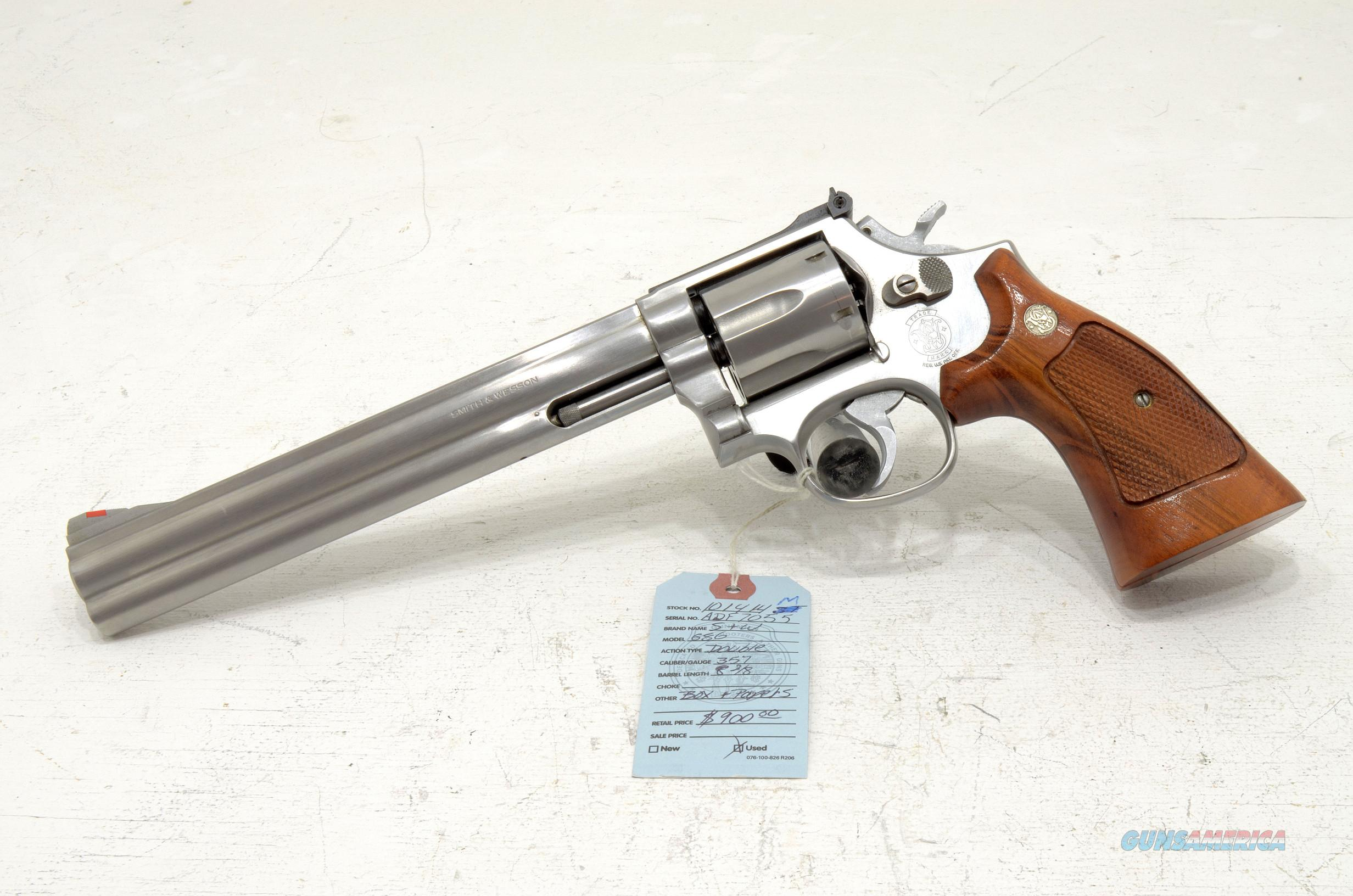 SMITH & WESSON 686 .357 mag  Guns > Pistols > Smith & Wesson Revolvers > Full Frame Revolver