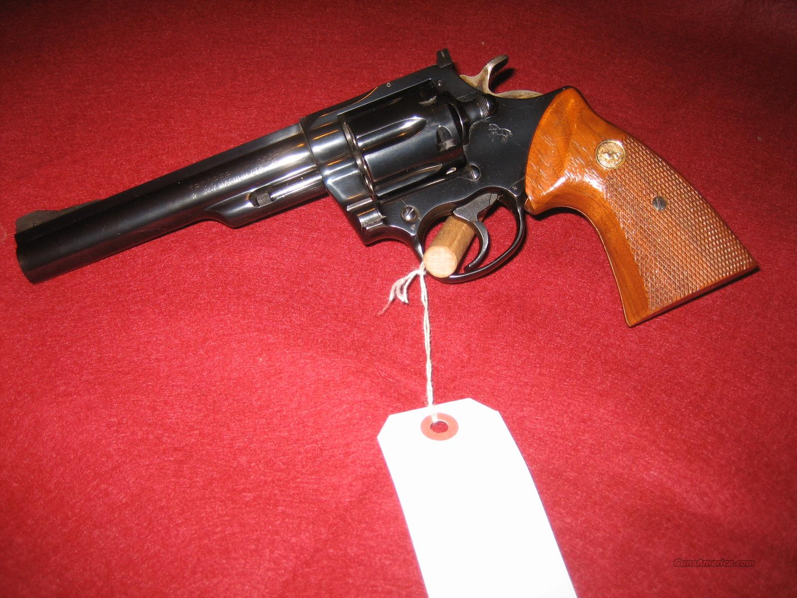 COLT MKIII 357 MAGNUM  Guns > Pistols > Colt Double Action Revolvers- Modern