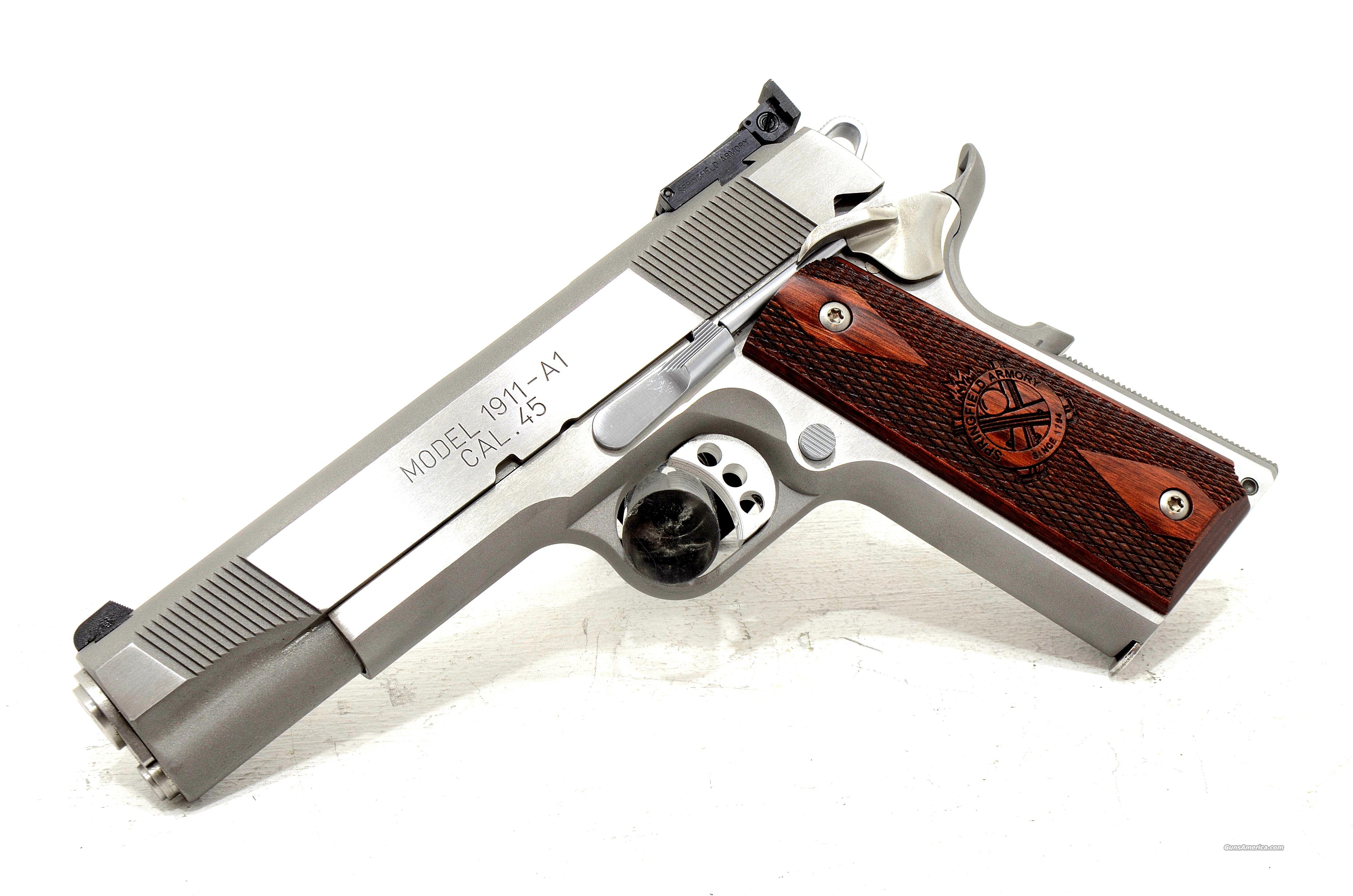 NEW! SPRINGFIELD 1911A1 TARGET MODEL .45ACP  Guns > Pistols > Springfield Armory Pistols > 1911 Type