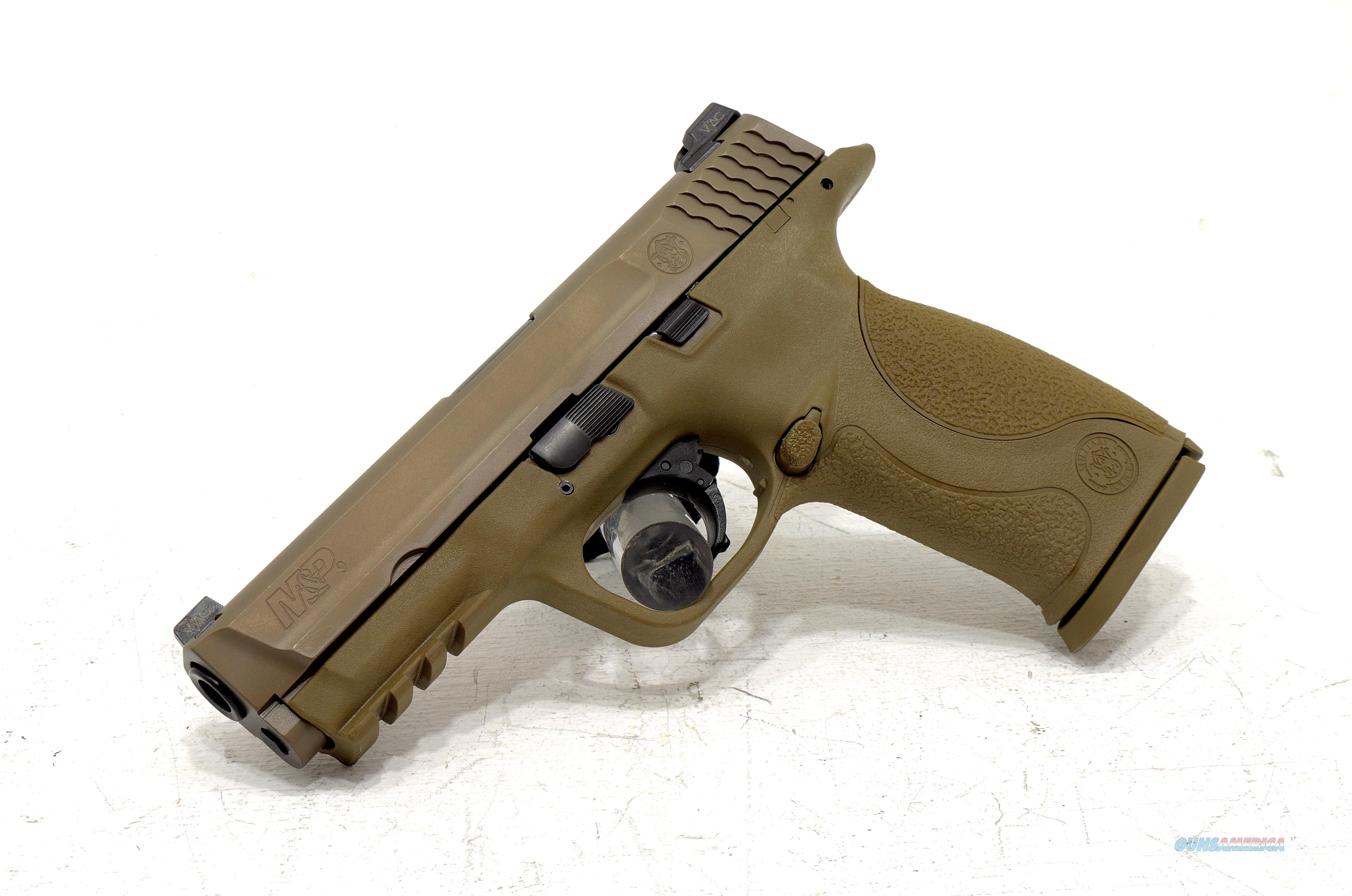 NEW SMITH & WESSON M&P9 VTAC FDE 9mm  Guns > Pistols > Smith & Wesson Pistols - Autos > Polymer Frame