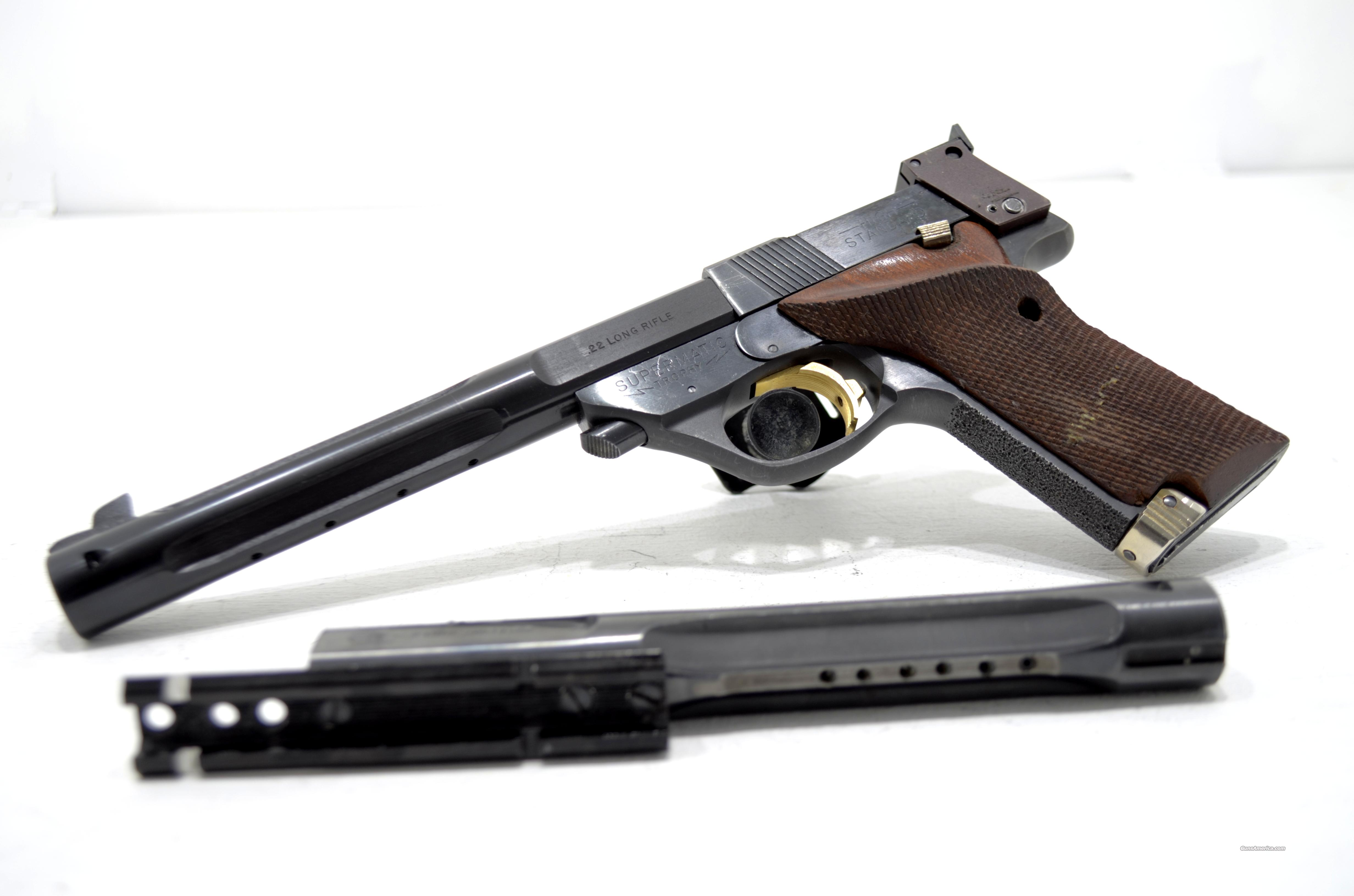 HIGH STANDARD SUPERMATIC TROPHY 107 .22lr  Guns > Pistols > High Standard Pistols