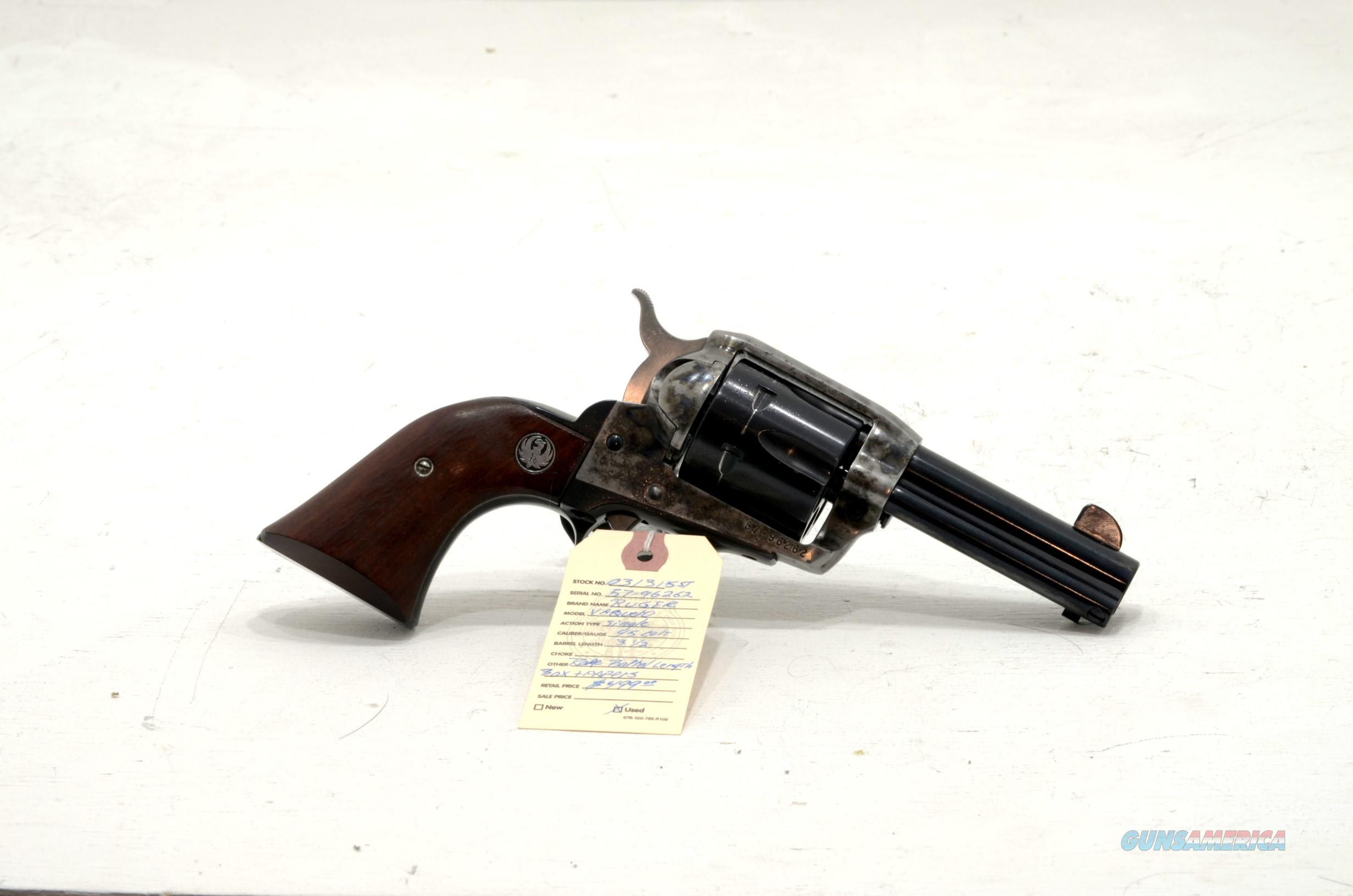 "Ruger Vaquero .45 colt revolver 3.5"" barrel  Guns > Pistols > Ruger Single Action Revolvers > Cowboy Action"