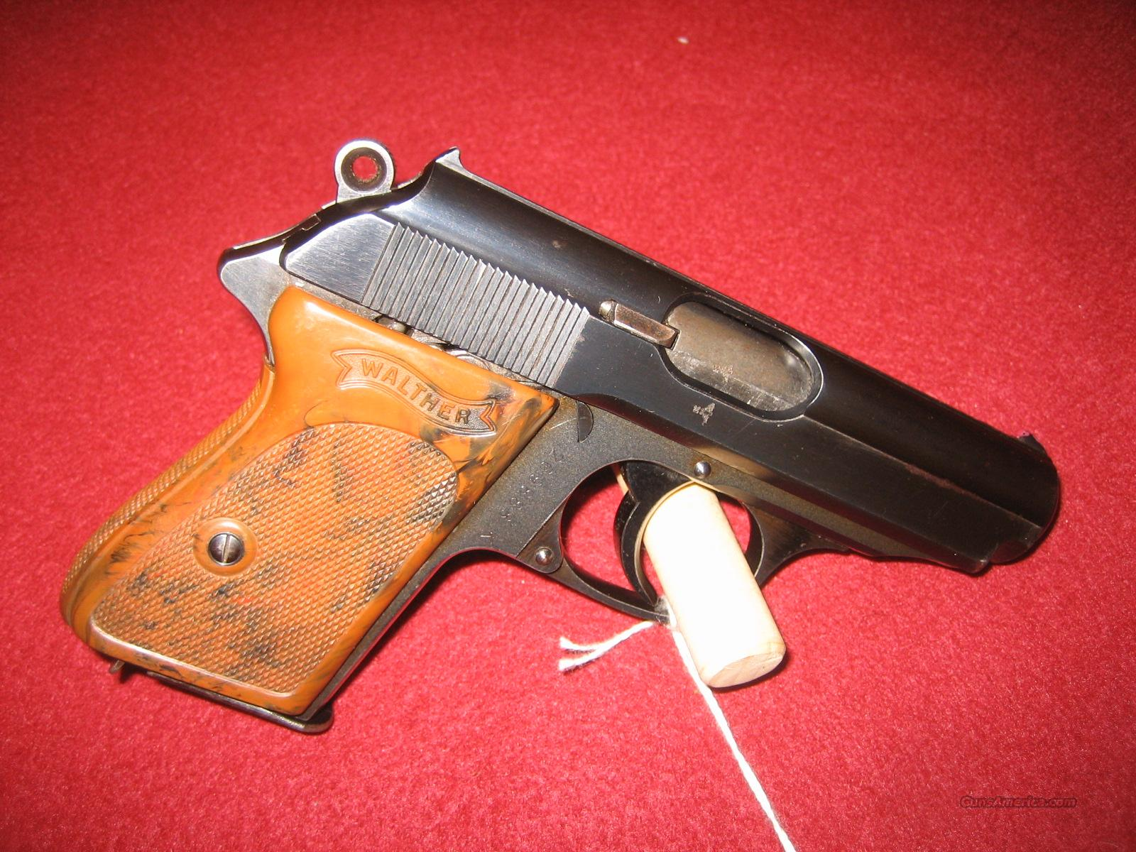 WALTHER PPK 32  Guns > Pistols > Walther Pistols > Pre-1945 > PPK