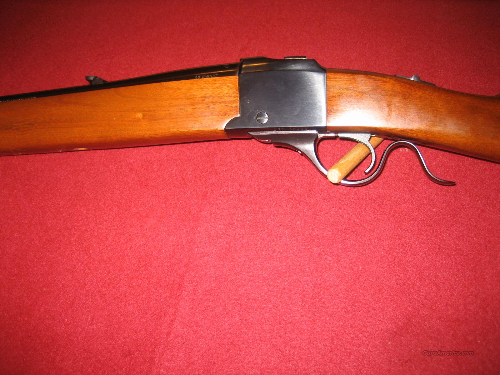RUGER #3 NUMBER 3 22 HORNET  Guns > Rifles > Ruger Rifles > #1 Type