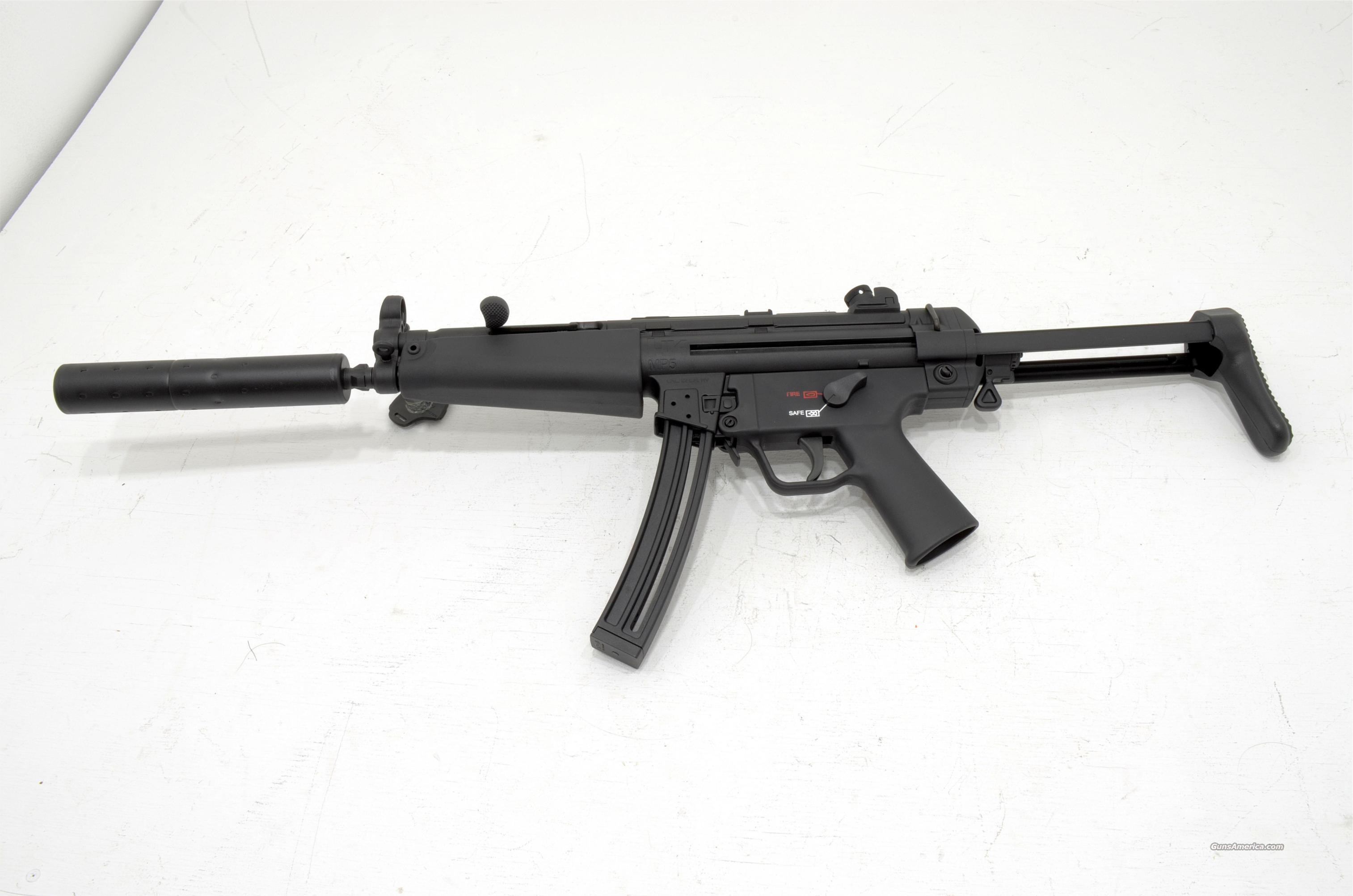 WALTHER HK MP5 .22lr  Guns > Rifles > Walther Rifles