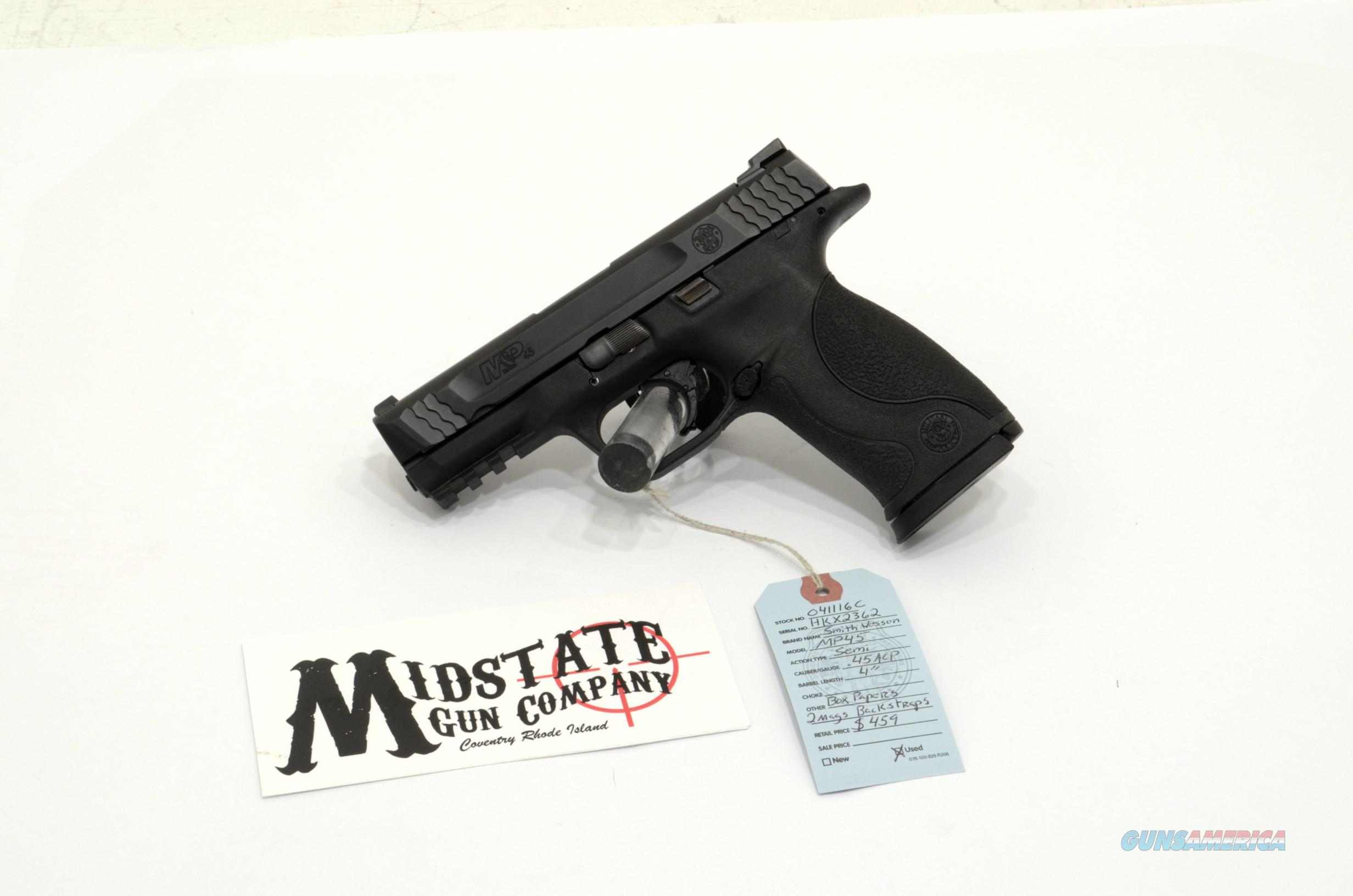 Smith & Wesson M&P45 .45acp pistol  Guns > Pistols > Smith & Wesson Pistols - Autos > Polymer Frame