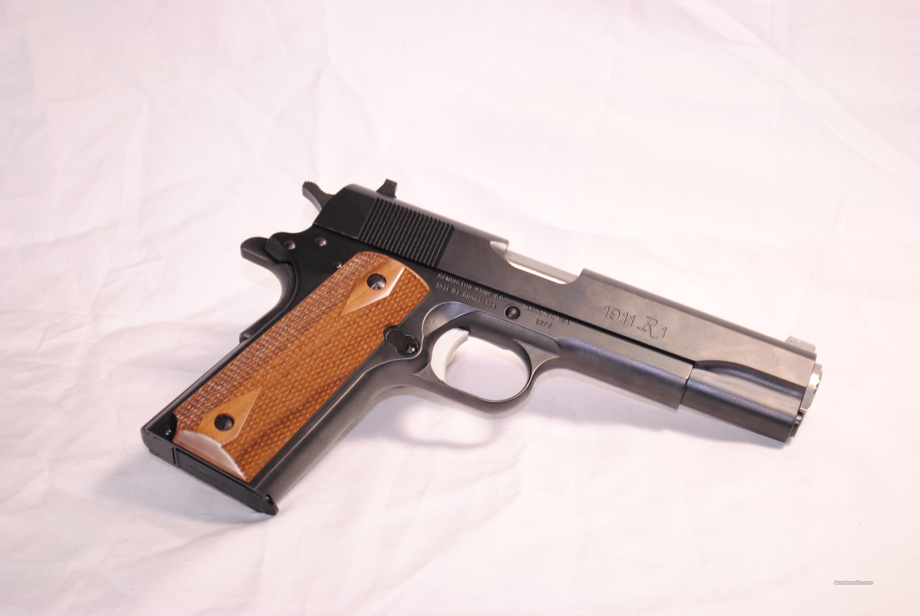 NEW! REMINGTON 1911 R1  Guns > Pistols > Remington Pistols - Modern