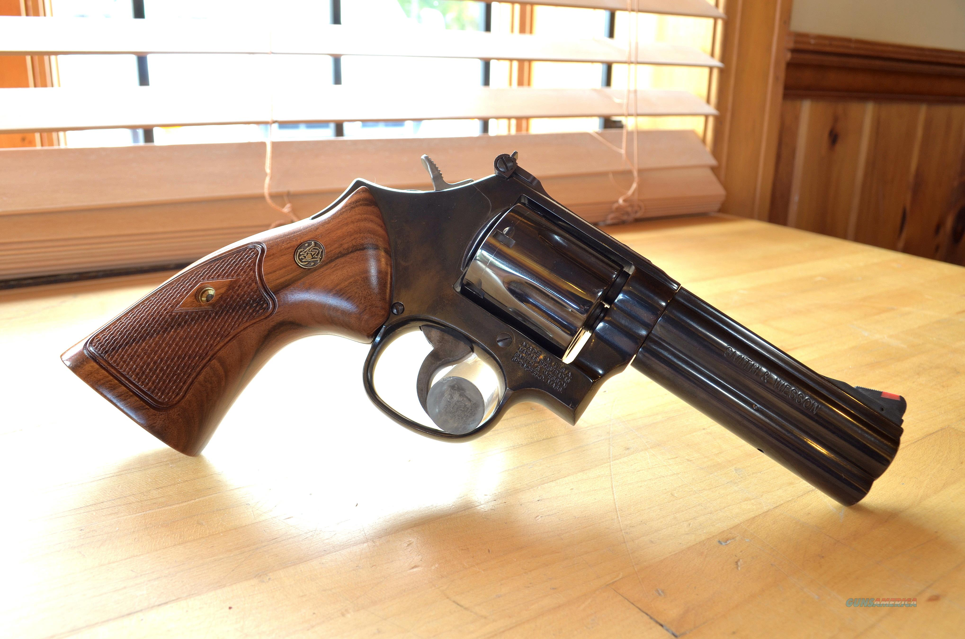 USED Smith & Wesson 586-8 .357mag  Guns > Pistols > Smith & Wesson Revolvers > Med. Frame ( K/L )