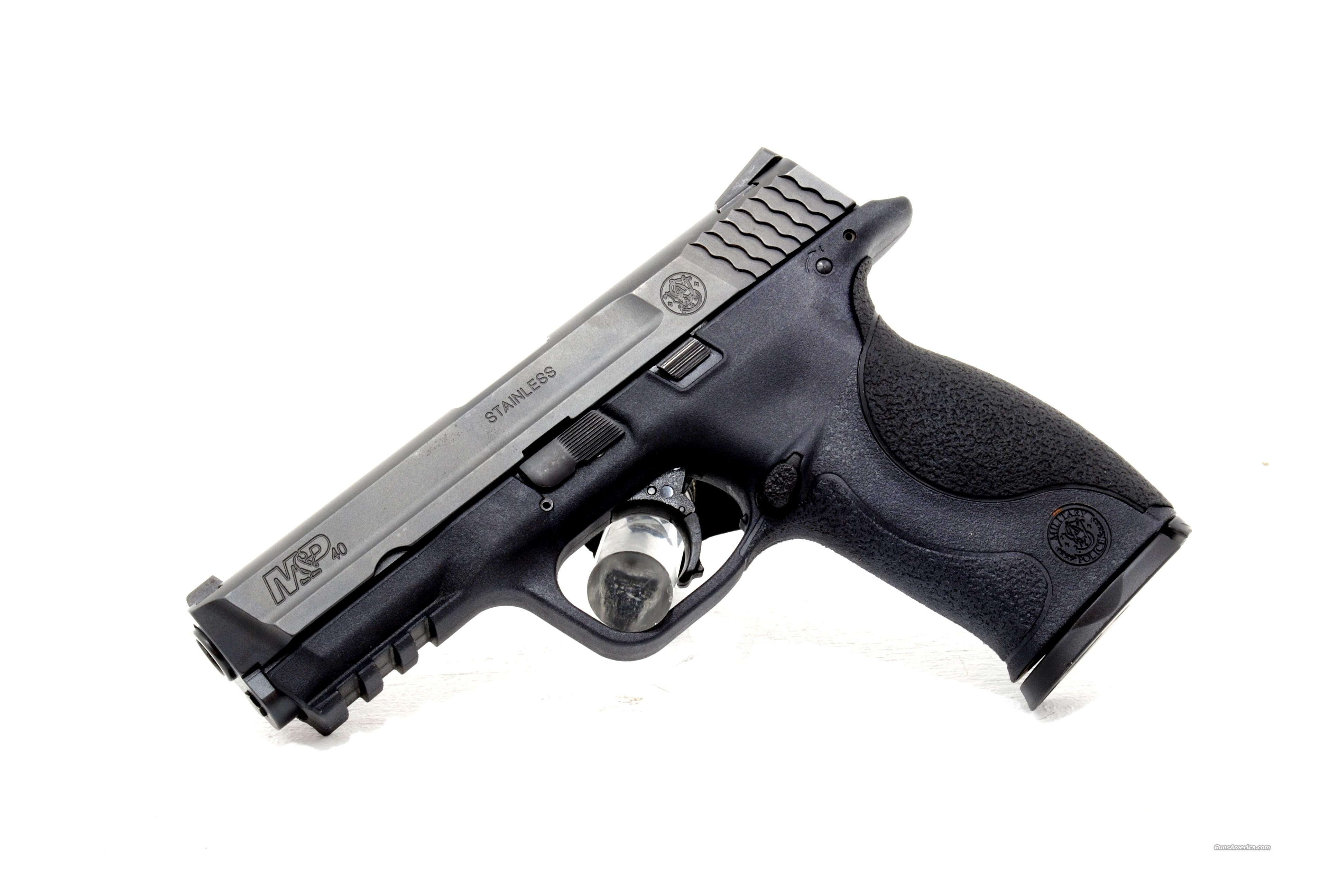 USED SMITH & WESSON M+P40 .40sw  Guns > Pistols > Smith & Wesson Pistols - Autos > Polymer Frame