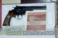 COLT TROOPER MARK V .357 MAGNUM REVOLVER  Guns > Pistols > Colt Double Action Revolvers- Modern