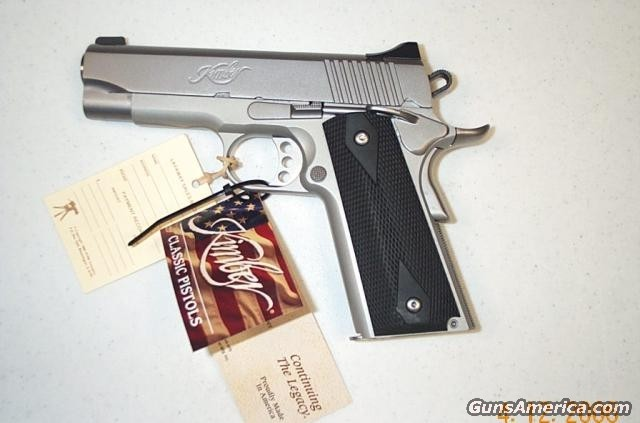 "Stainless Steel 4"" Custom II  Guns > Pistols > Kimber of America Pistols"