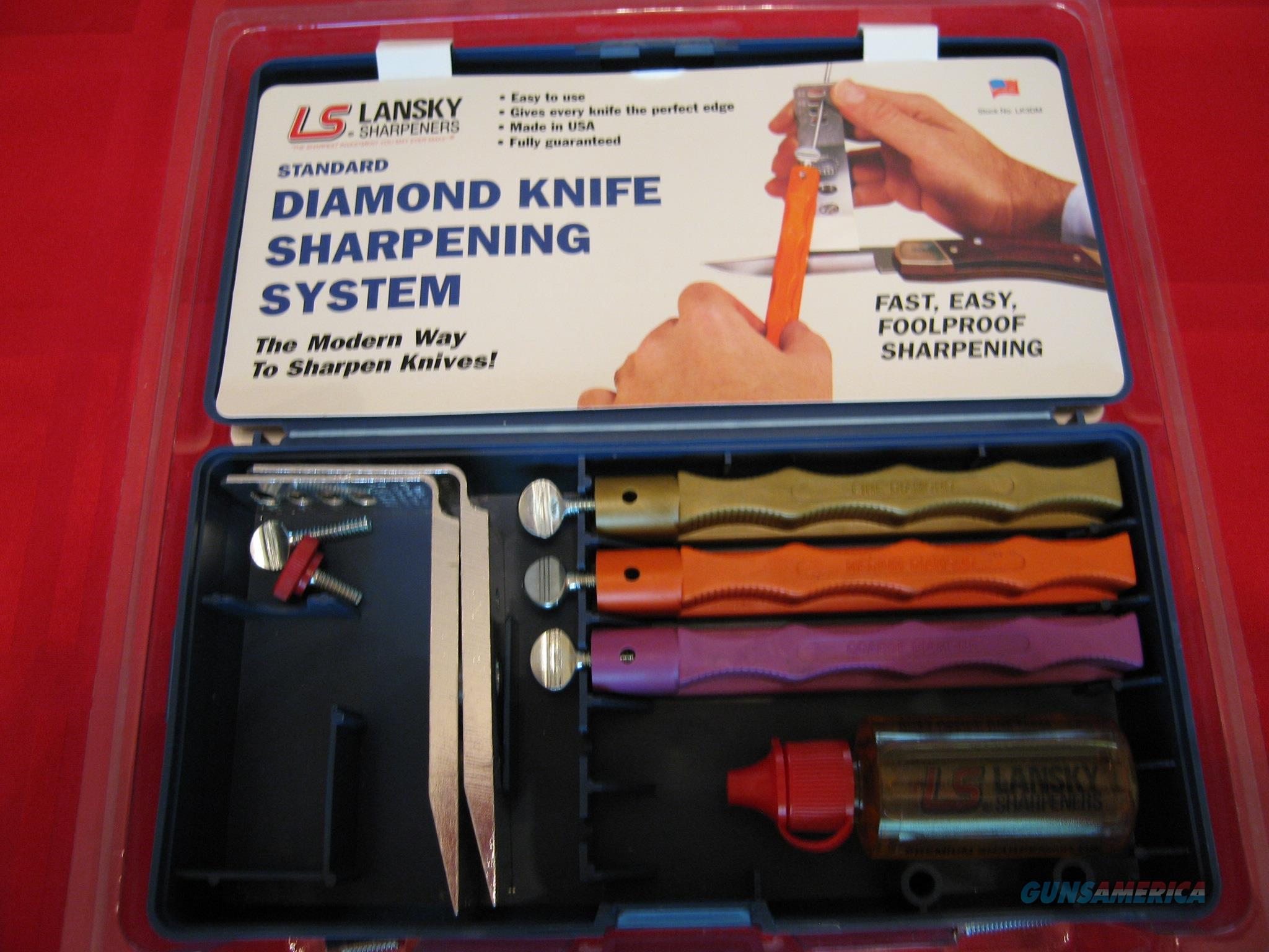 Lansky Diamond Knife Sharpening System  Non-Guns > Knives/Swords > Knives > Fixed Blade > Imported