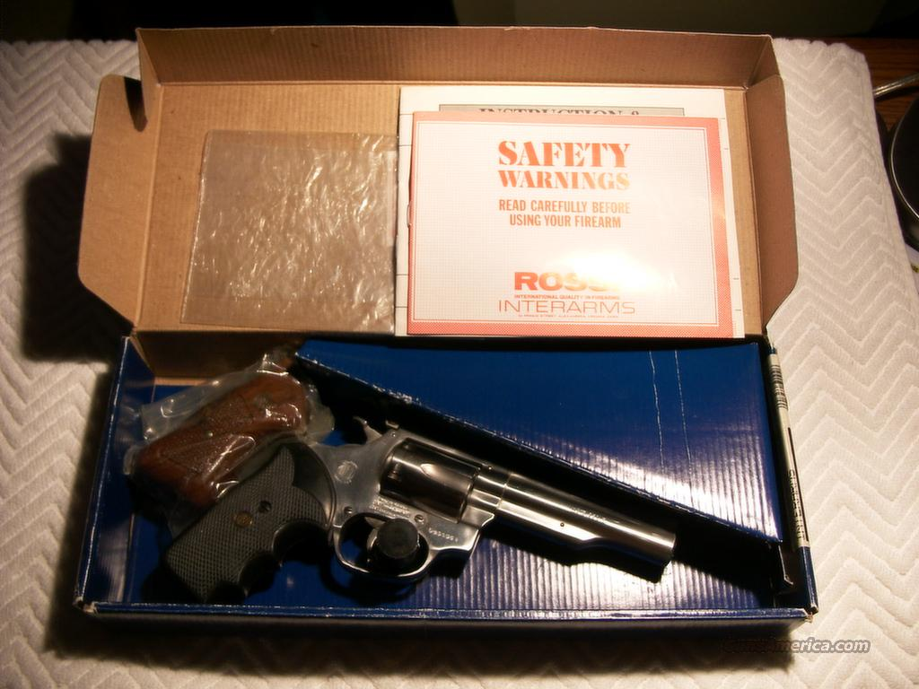 "~~~REDUCED~~~ Rossi Model 518 Stainless 4"" 6-Shot .22 LR Revolver *RARE*  Guns > Pistols > Rossi Revolvers"