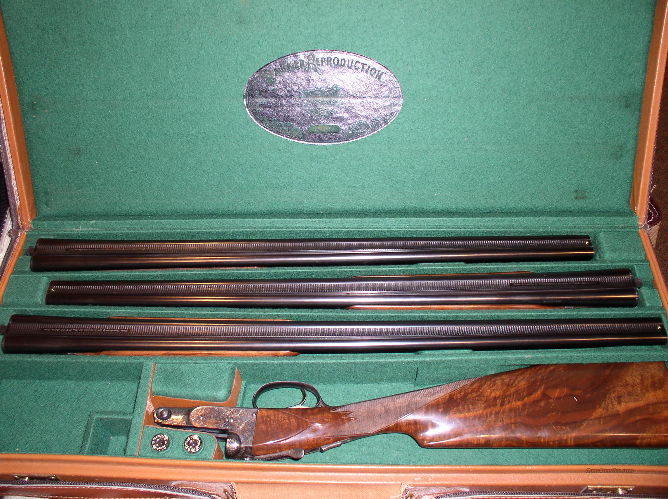 Parker Repro 28 Bore 3 Barrel Set  Guns > Shotguns > Parker Reproductions Shotguns
