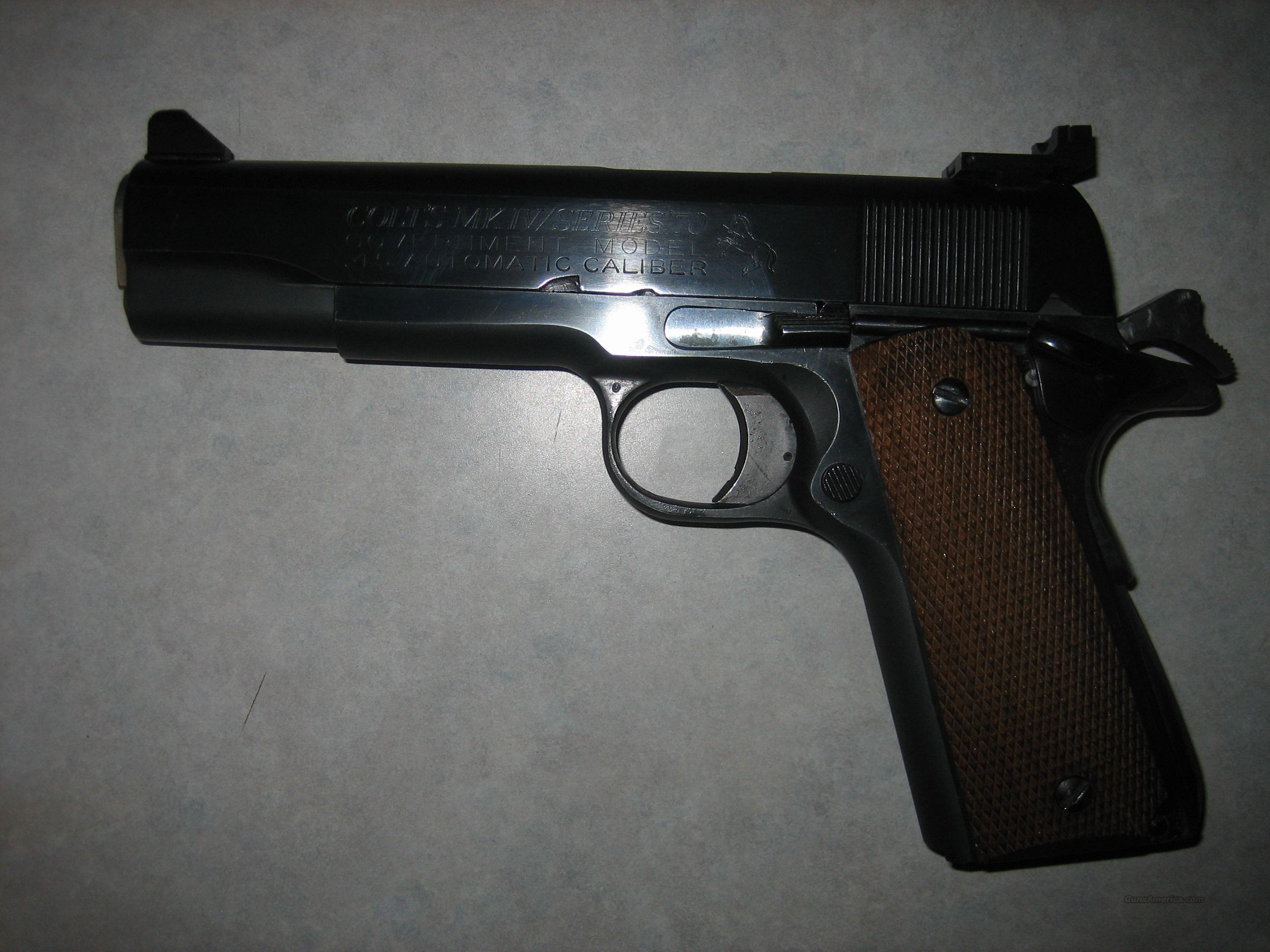 Colt Series 70 .45cal 1911  Guns > Pistols > 1911 Pistol Copies (non-Colt)