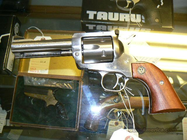 Ruger BlackHawk New Model 45 Long Colt Used Stainless!!!!  Guns > Pistols > Ruger Single Action Revolvers > Blackhawk Type