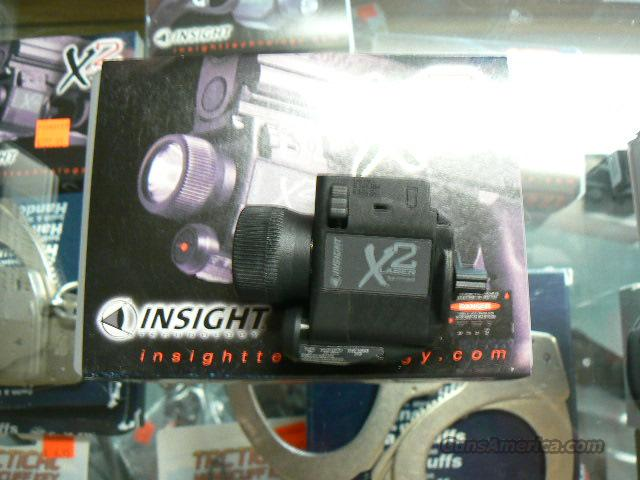 X2 Insight Laser Light Combo Tactical Light New In Box! Sub Compact Mil Spec  Non-Guns > Lights > Tactical
