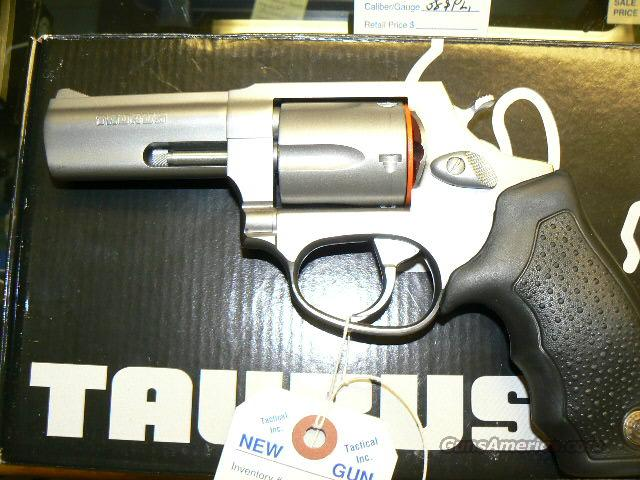 "TAURUS 3"" STAINLESS NEW IN BOX!!! +P RATED  Guns > Pistols > Taurus Pistols/Revolvers > Revolvers"