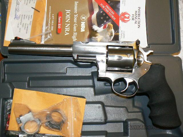 Ruger Super RedHawk 44 Rem Mag 7 1/2 BBL New In Box  Guns > Pistols > Ruger Double Action Revolver > Redhawk Type