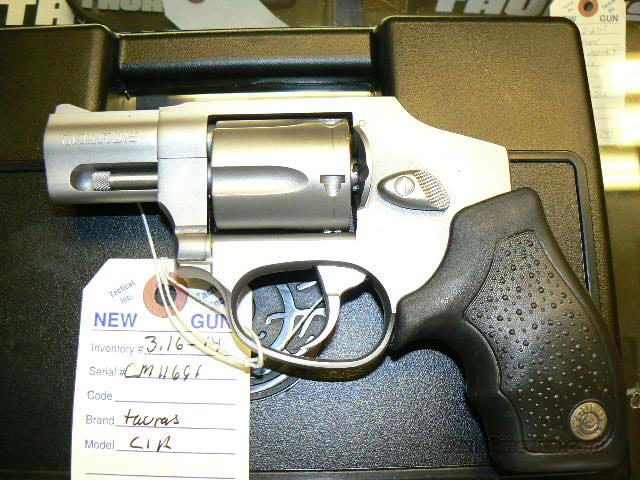 TAURUS CIA MODEL 850 .38 SPL. REVOLVER IN STAINLESS STEEL  Guns > Pistols > Taurus Pistols/Revolvers > Revolvers