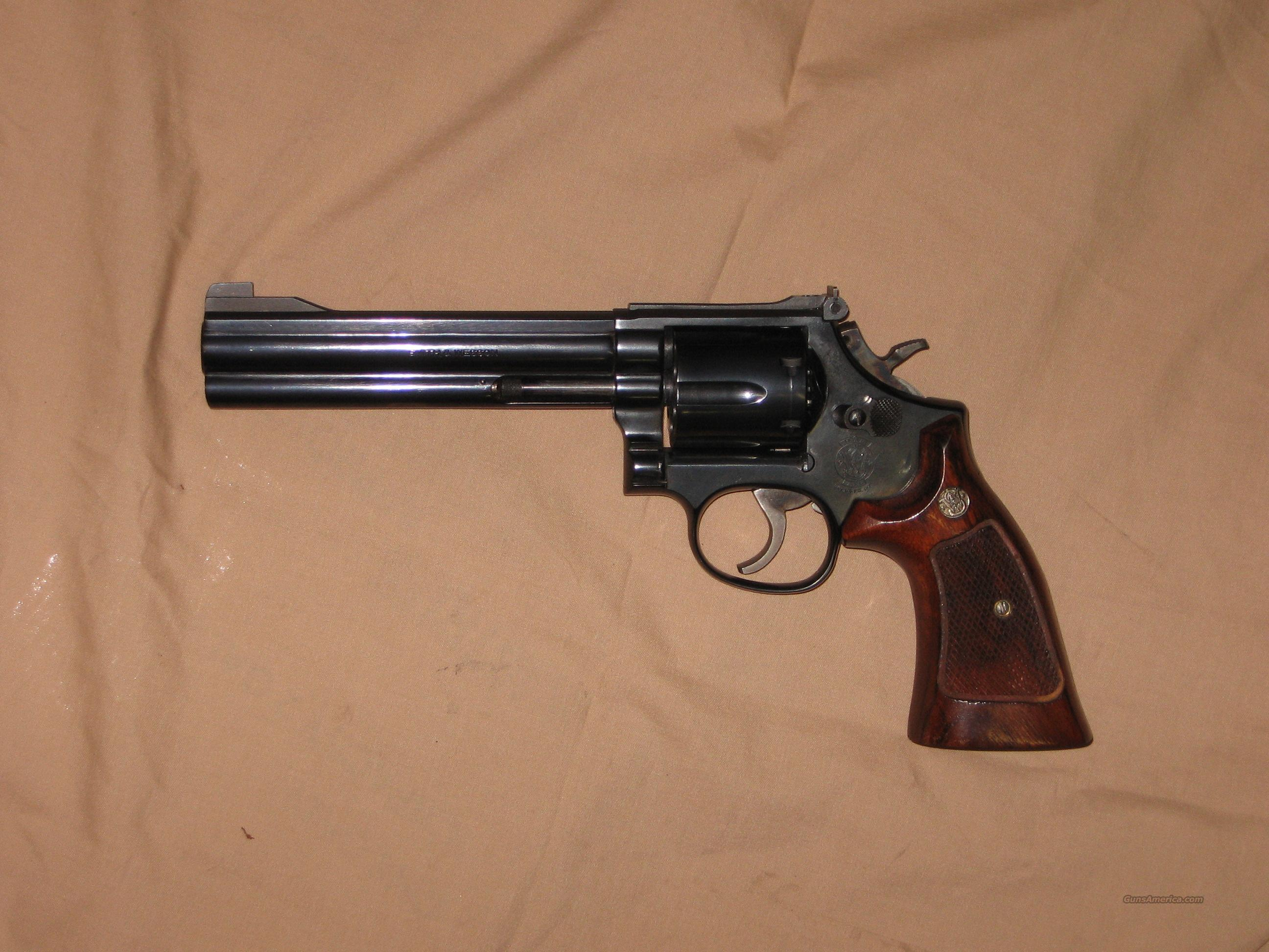 "Smith & Wesson 586 blue 6""  357 mag  Guns > Pistols > Smith & Wesson Revolvers > Full Frame Revolver"