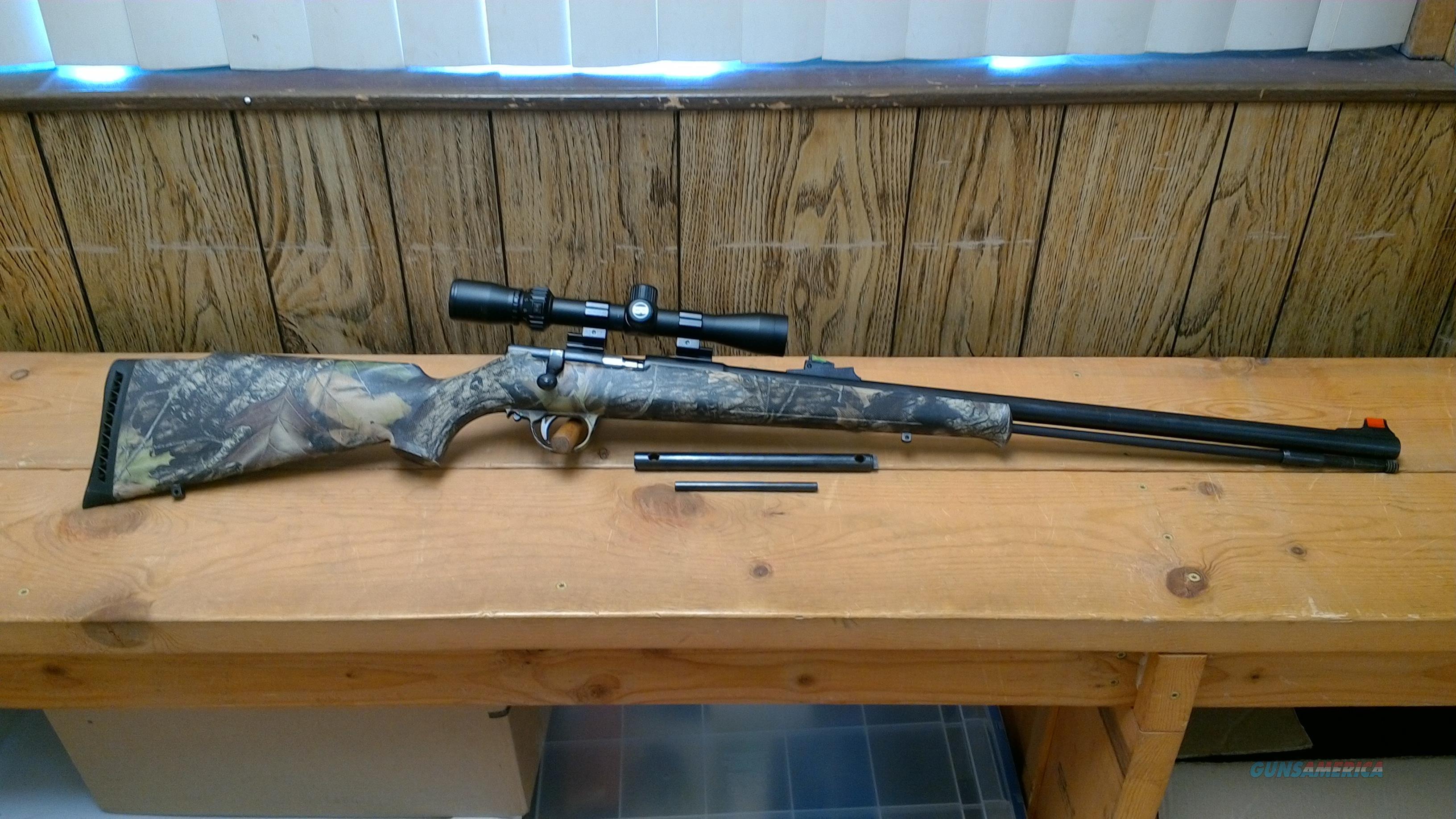 CVA MAG HUNTER .50 CAL INLINE MUZZLELOADER  Non-Guns > Black Powder Muzzleloading