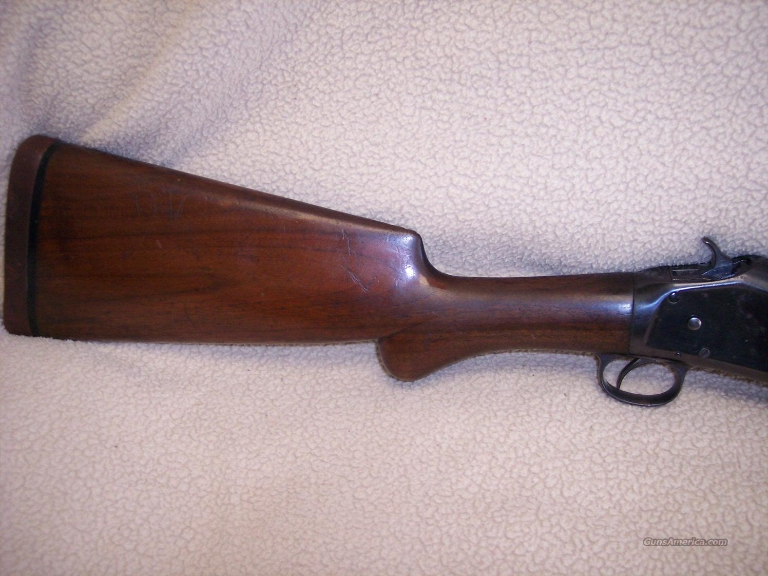 WINCHESTER MODEL 1897  Guns > Shotguns > Winchester Shotguns - Modern > Pump Action > Hunting