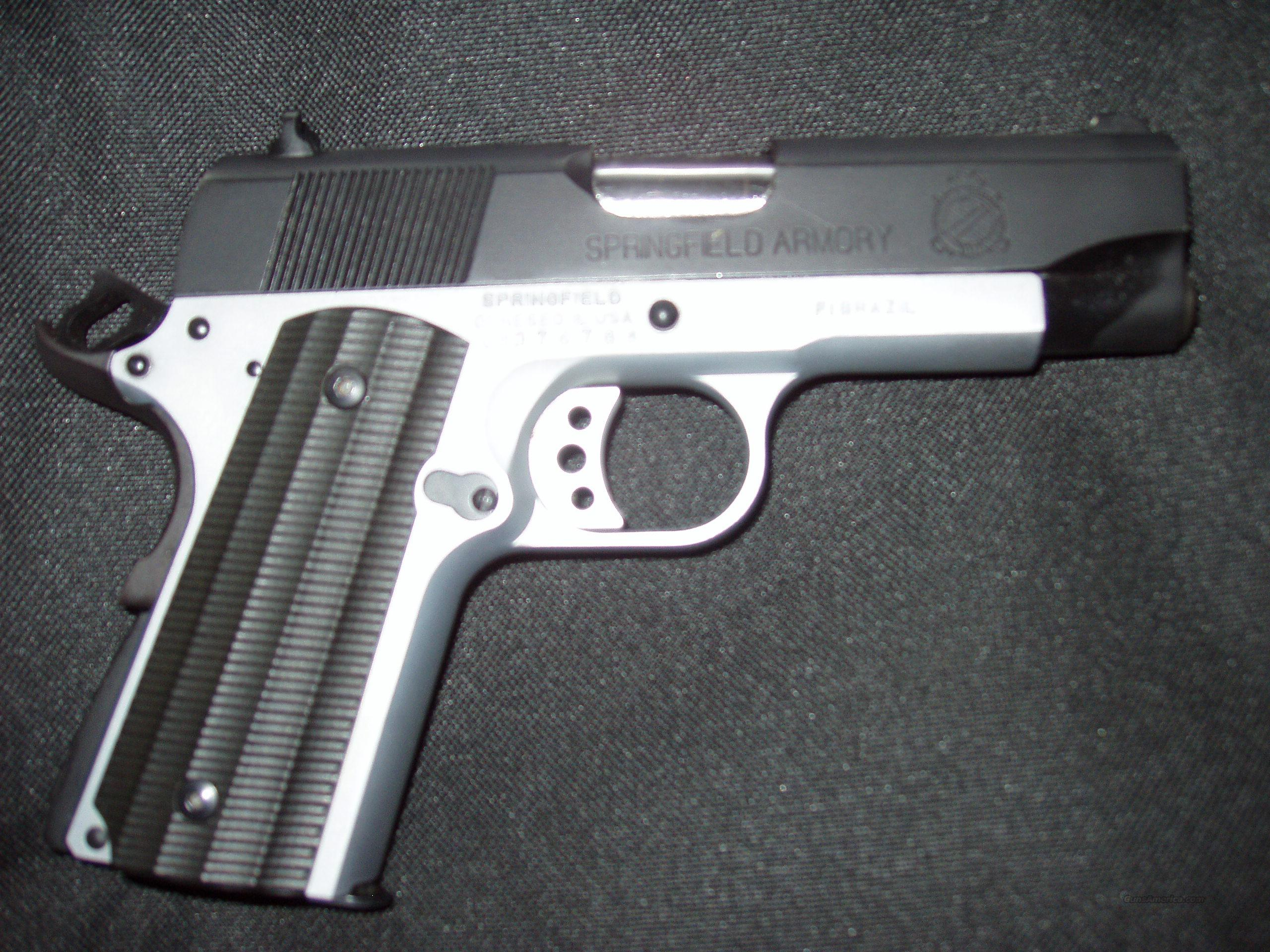 Springfield Armory Light Weight Compact-Two Tone  Guns > Pistols > Springfield Armory Pistols > 1911 Type